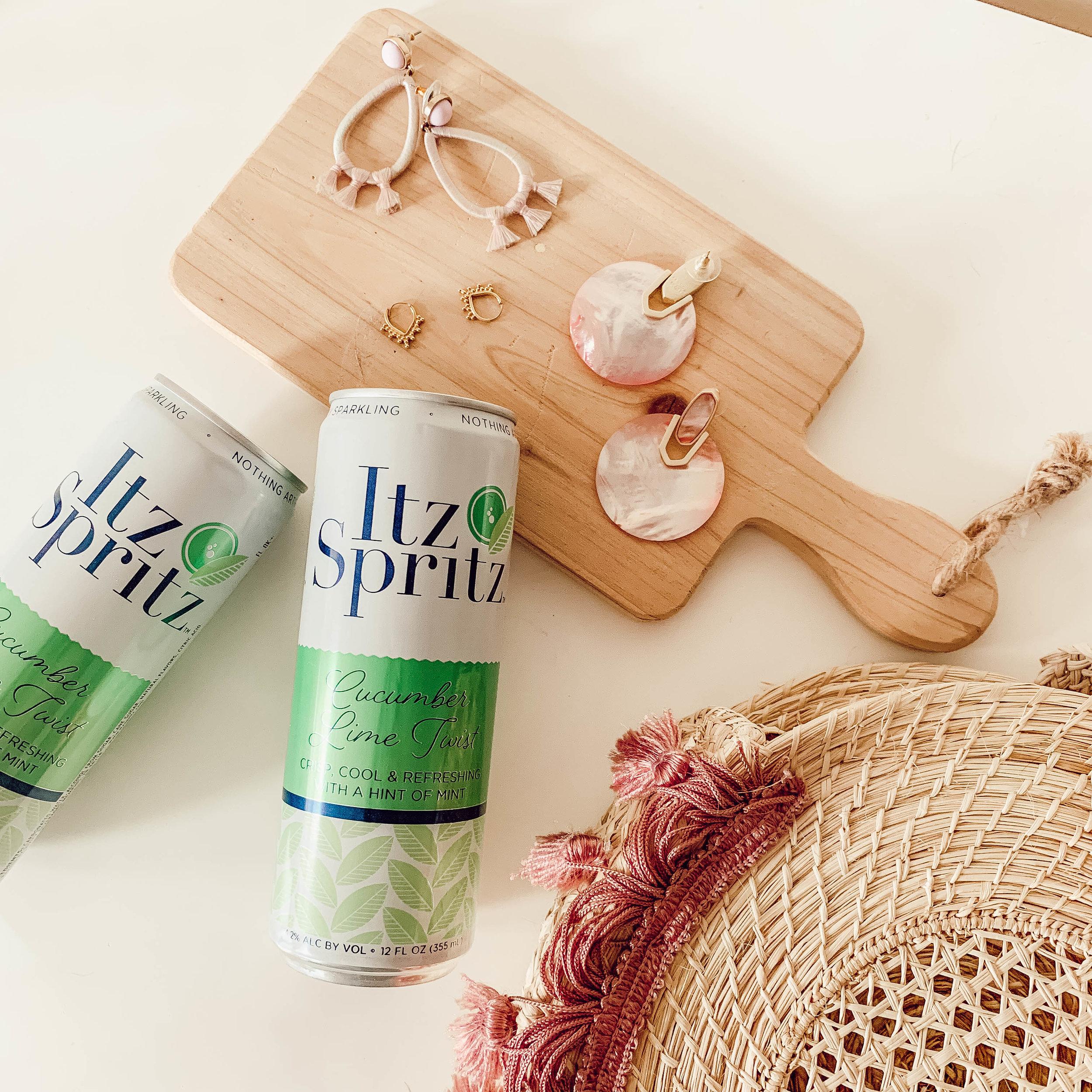 Springtime Essentials with Itz Spritz (via @maevestier)