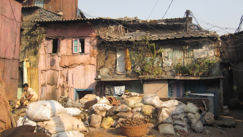 A potters house in Dharavi.
