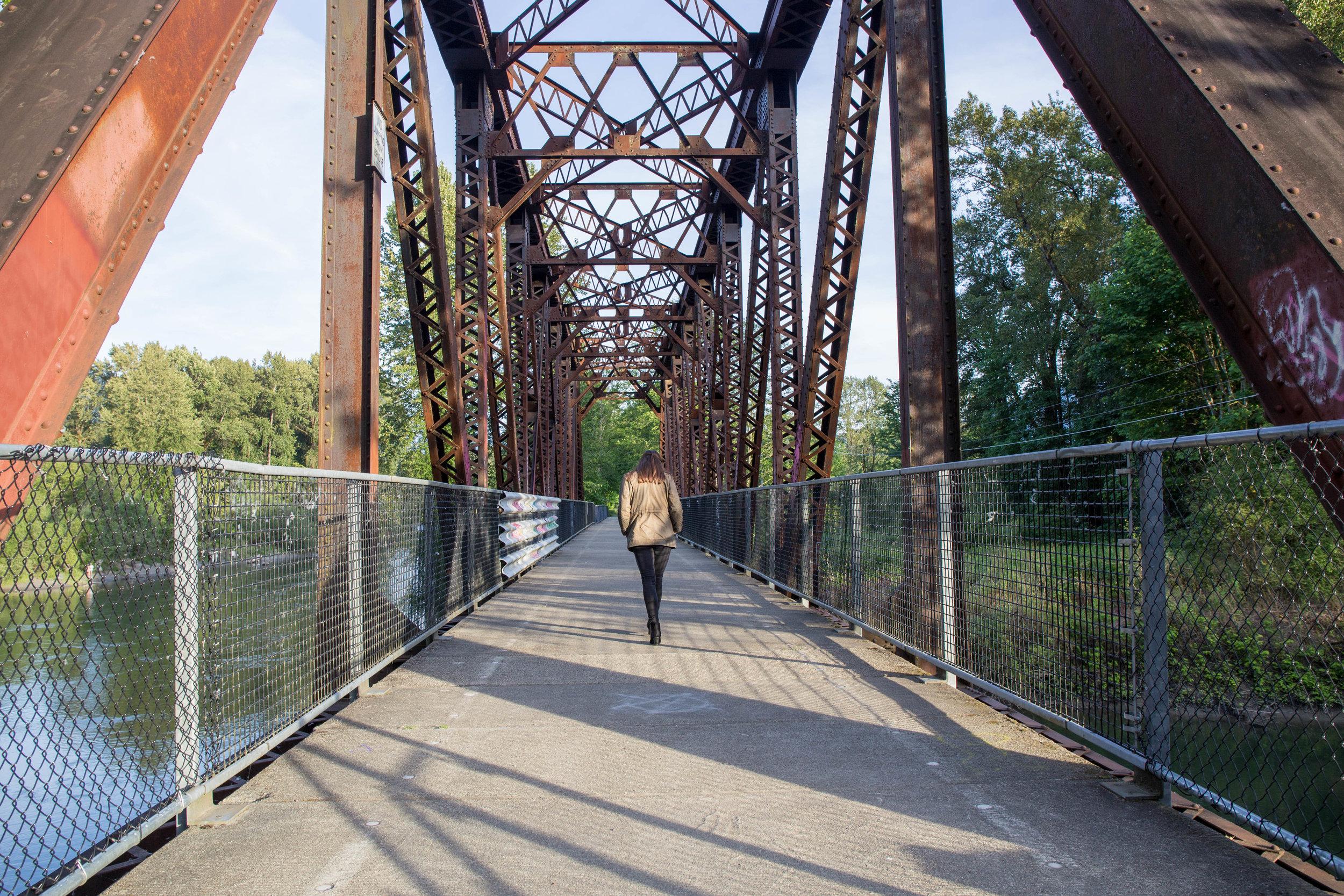 Ronette's Bridge!