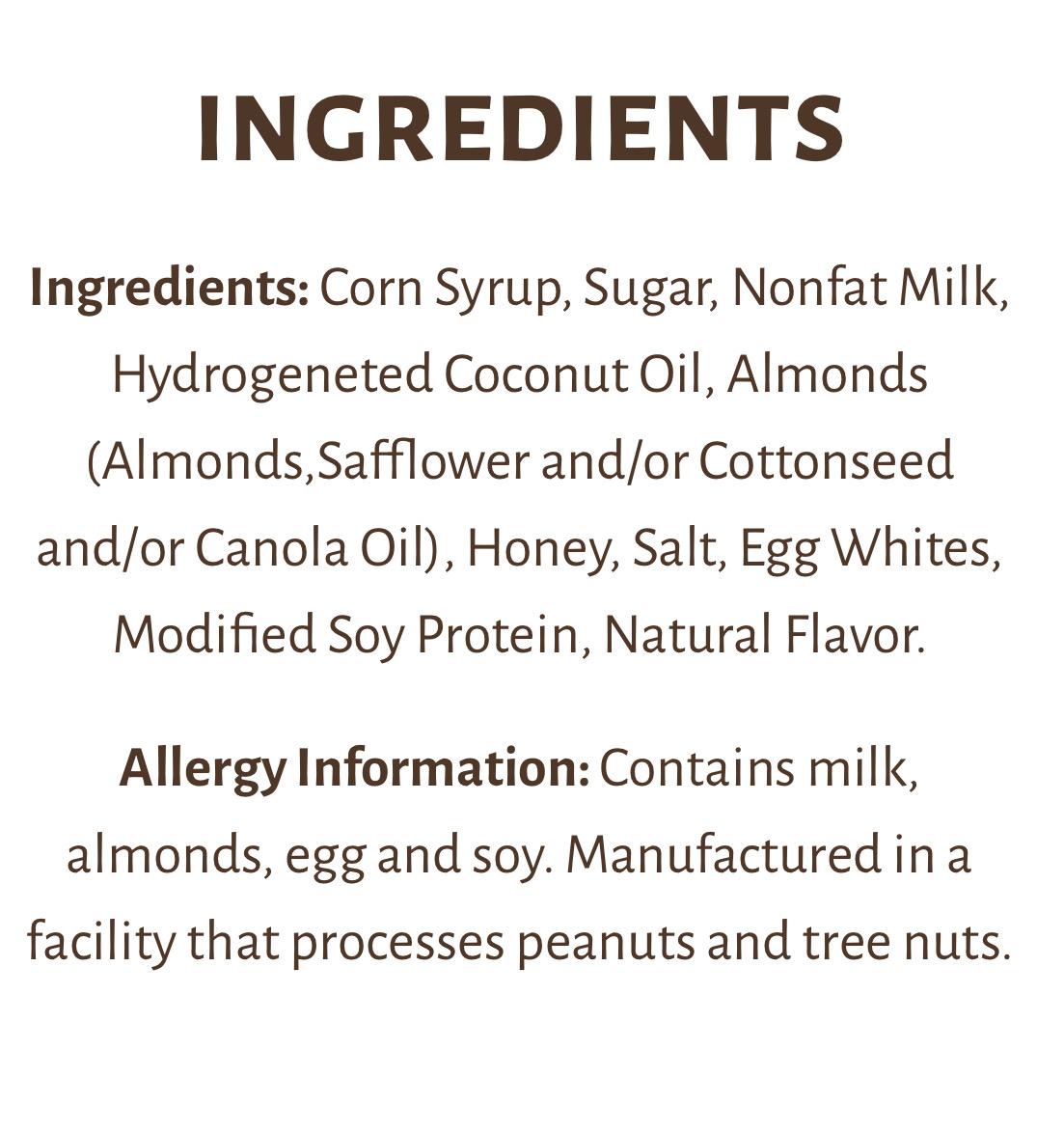 Bit o honey ingredients .JPG