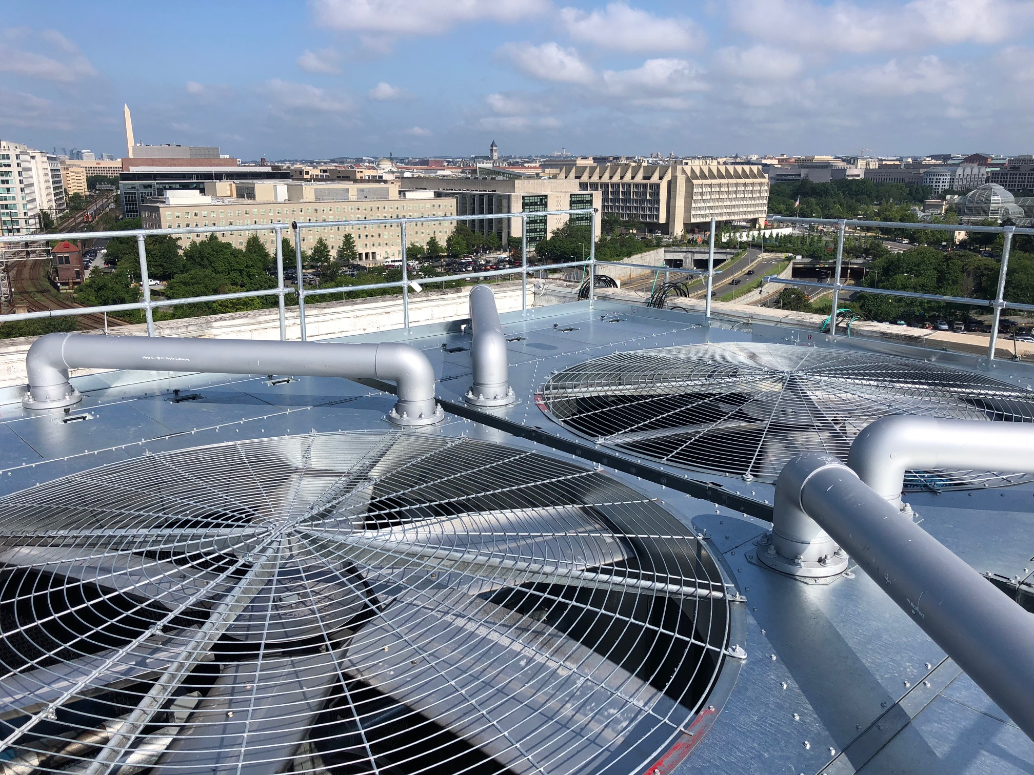 D.C. CRITICAL FACILITY COOLING TOWER REPLACEMENT