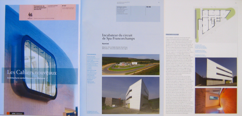 SPW- Les cahiers nouveaux n°87