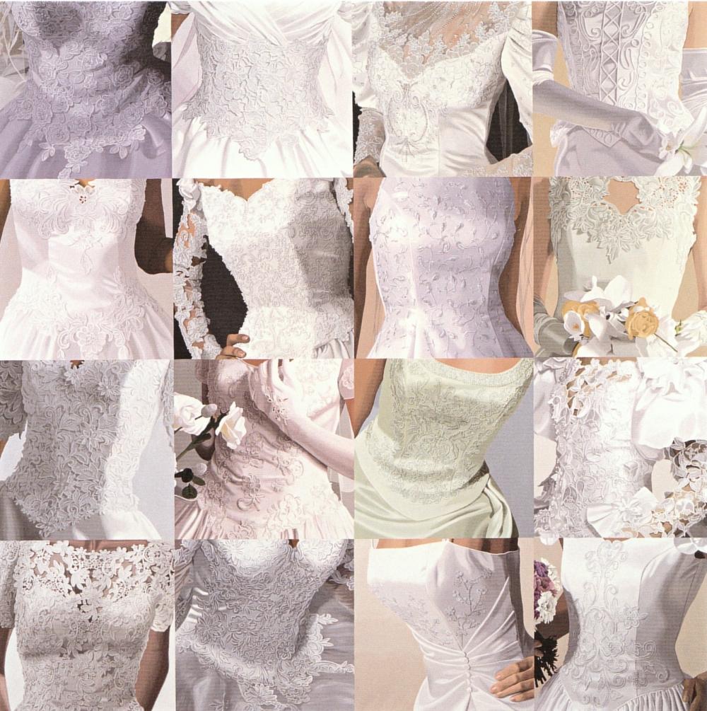 White on White (Sixteen Wedding Dresses) II