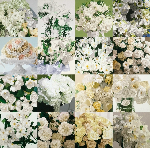 White on White (Sixteen Kinds of Flowers)
