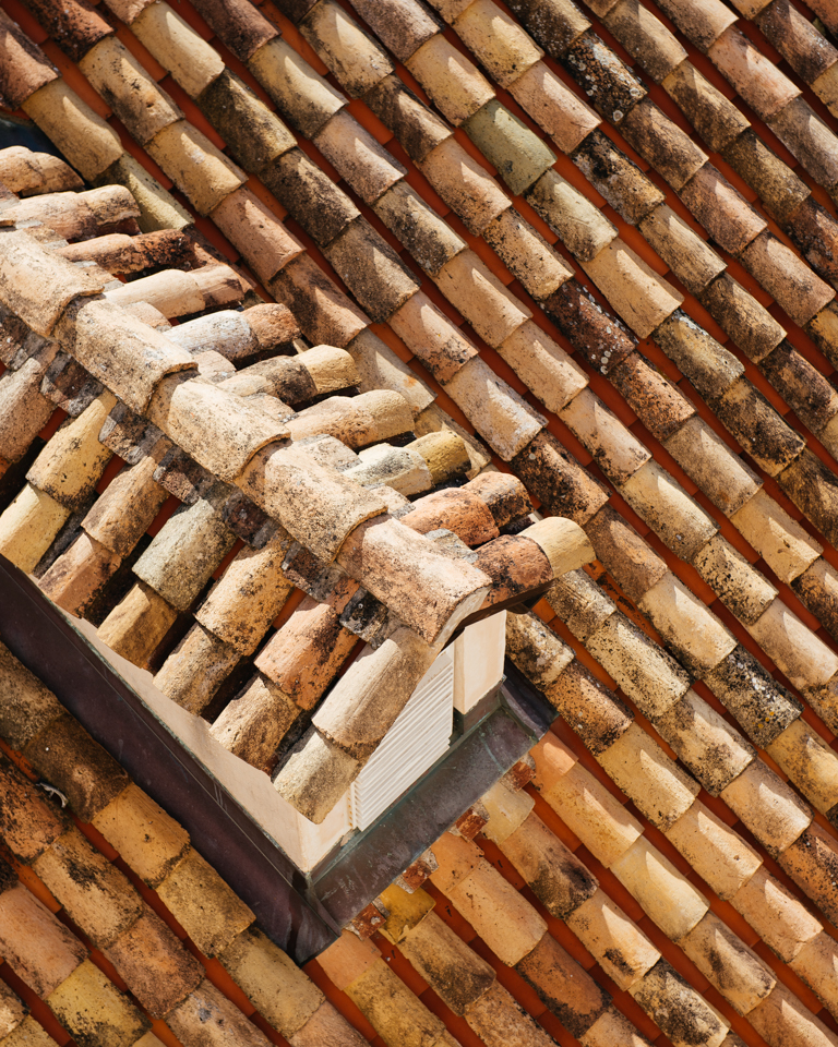 "One of the distinct features of Dubrovnik are its terracotta roof tiles called, ""Kupe Kanalice,"" originally hand-manufactured in the shape of the human thigh."