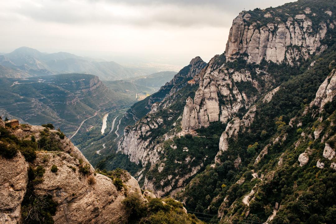 Valley of Montserrat.