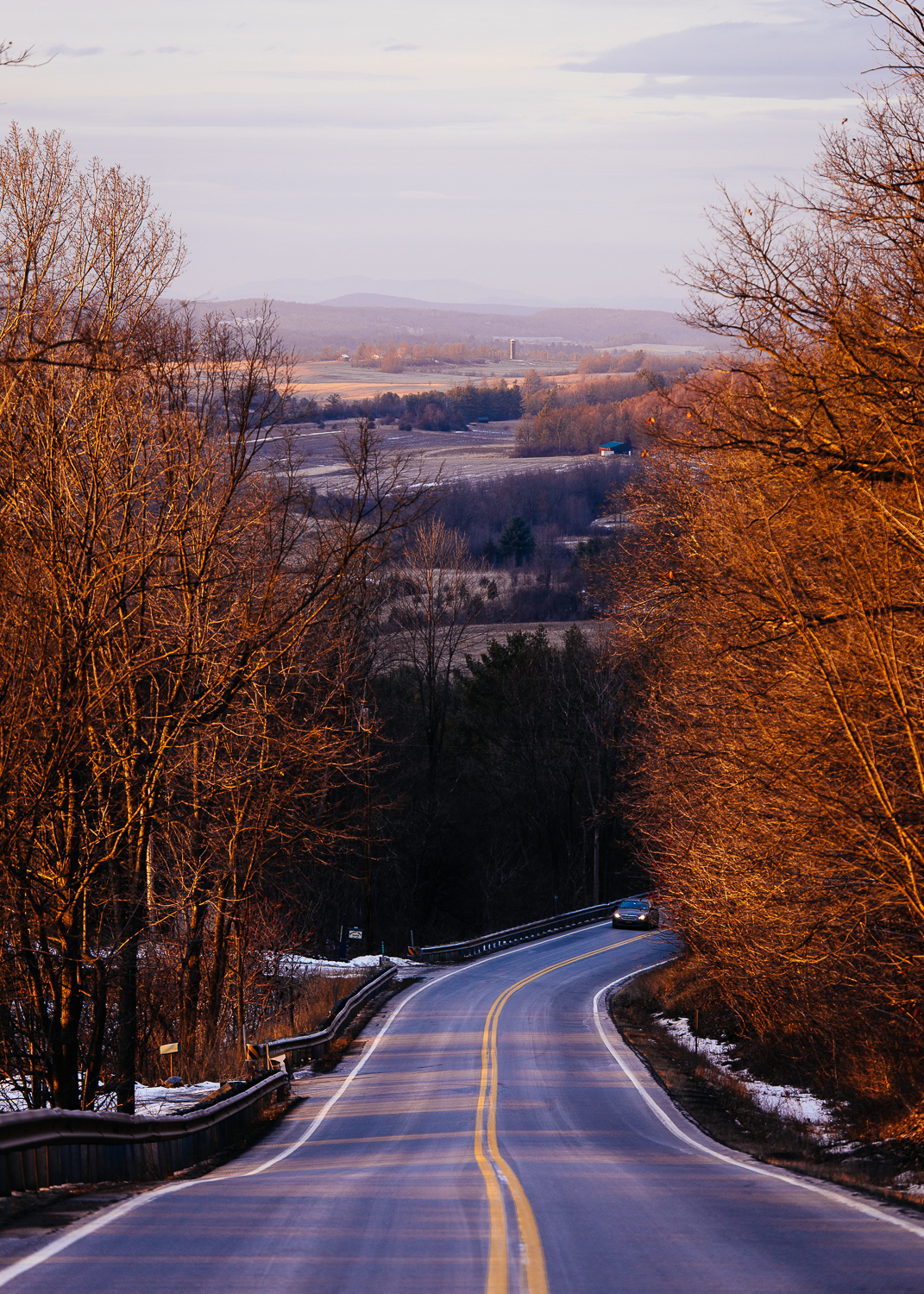 Vermont country roads.