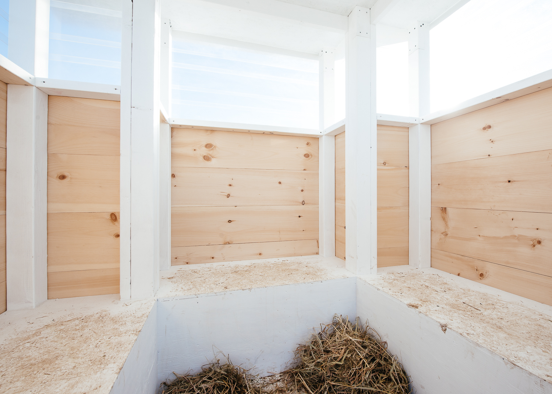 Interior of 4x4 Shanty.