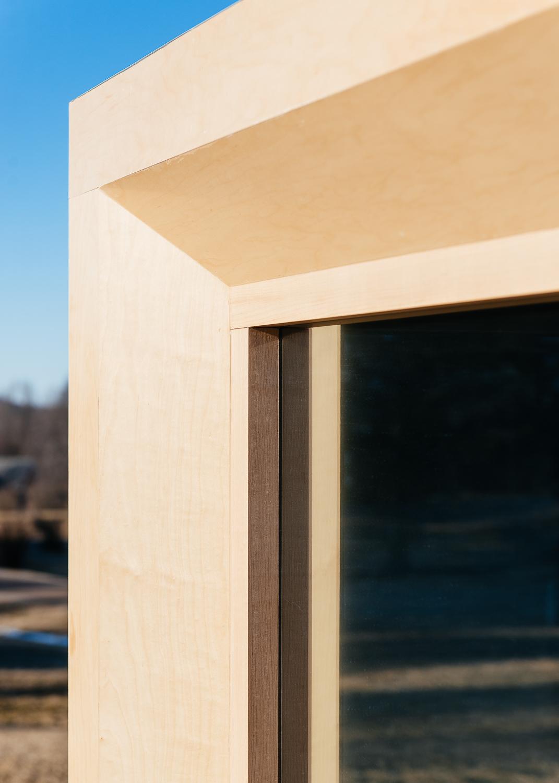 """Bevel detail enhances the """"cube"""" effect."""