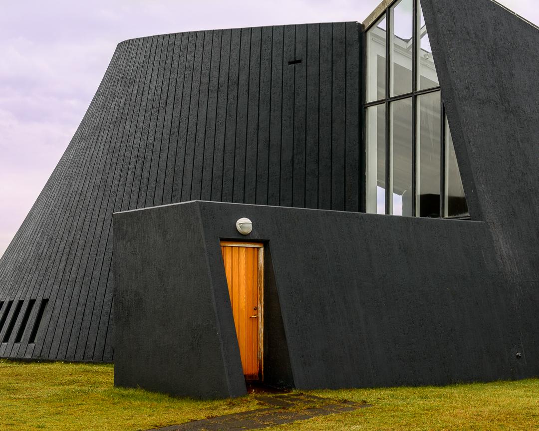 Doorway into the Blonduoskiria church.