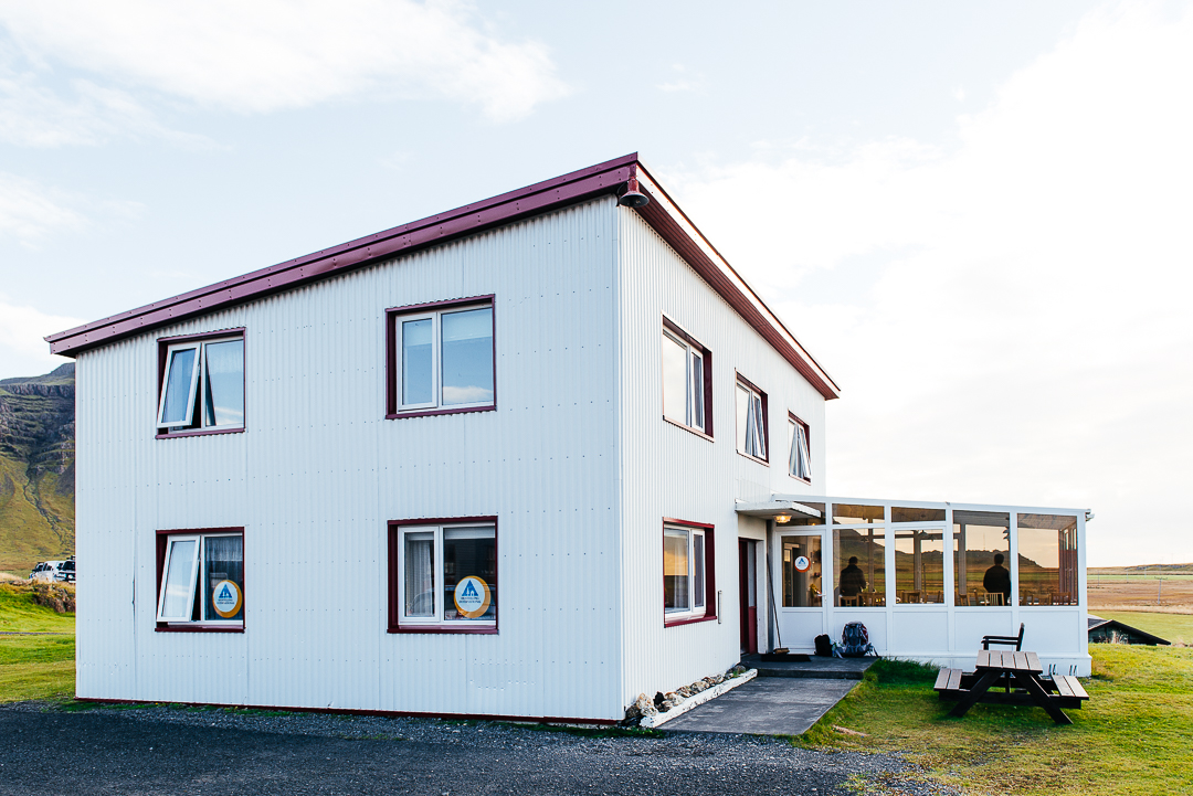 Hostel Vagnsstadir gives backpackers a warm and dry place to stay.  Website