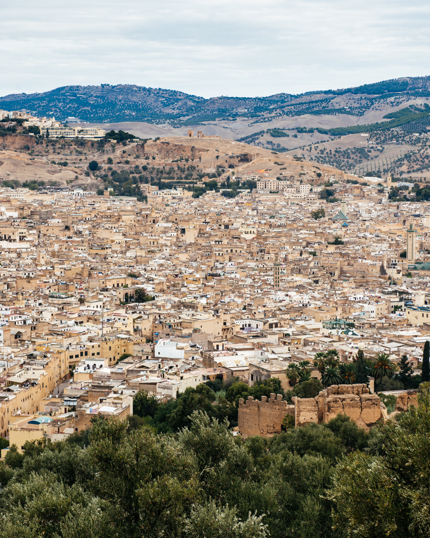 Old city of Fes.