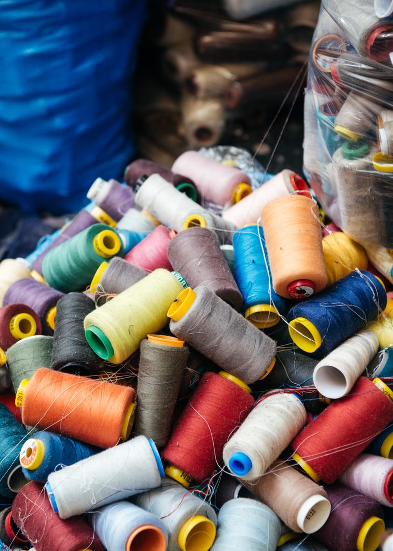 Thread ready for use.