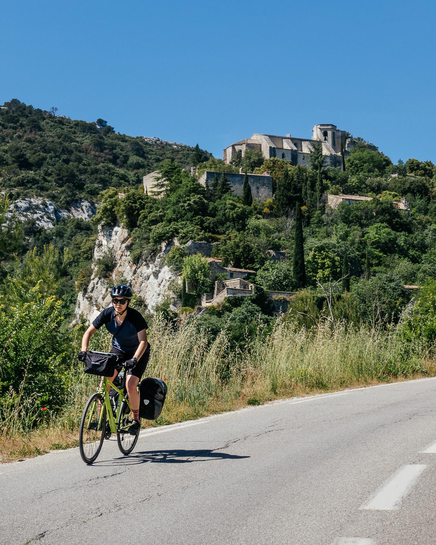 Descending from Commune De Oppede, France.