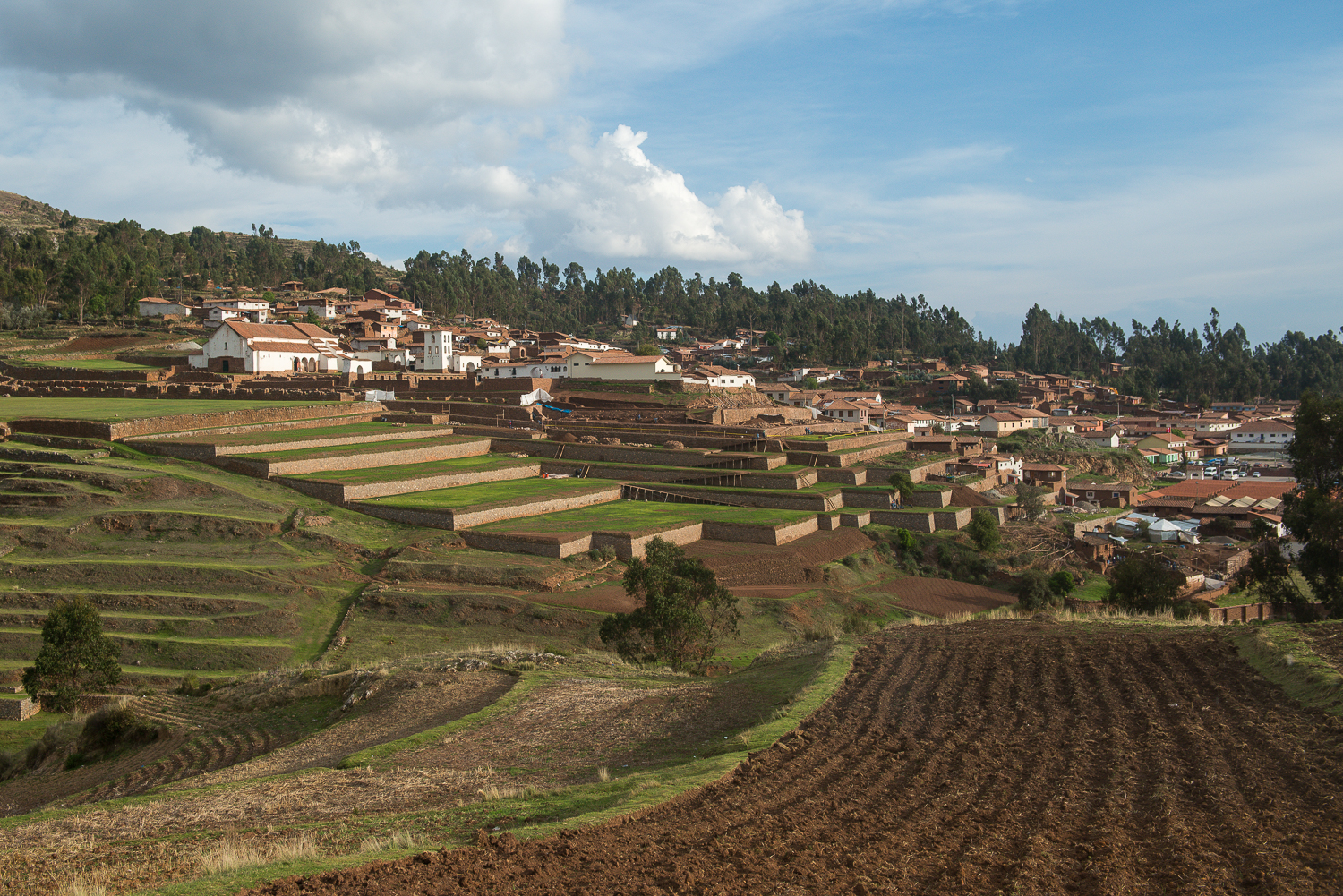 The town of Chinchero.