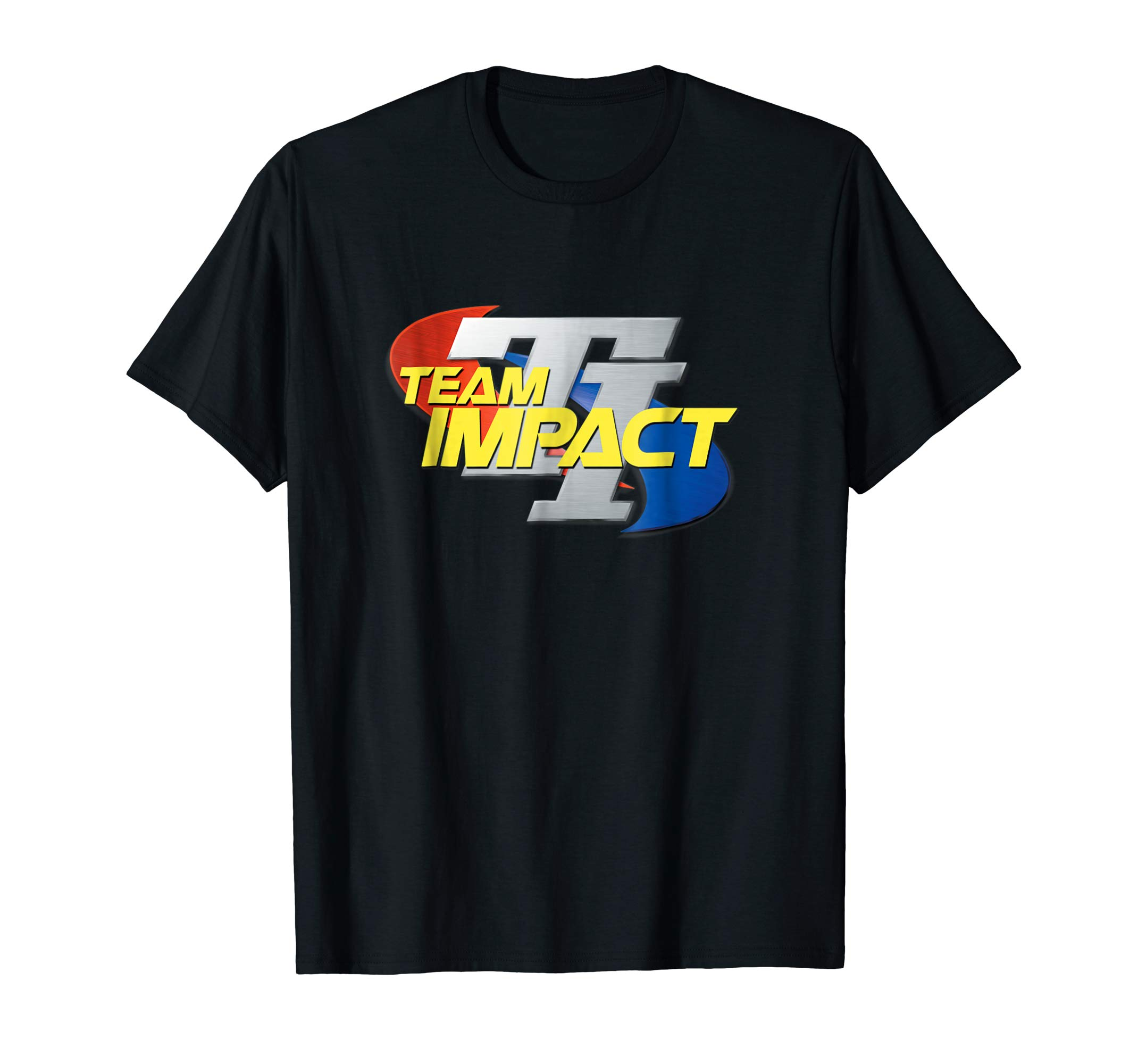 Team Impact Retro Logo - The original Team Impact logo in full color. Five colors to choose from. Lightweight, Classic fit, Double-needle sleeve and bottom hem