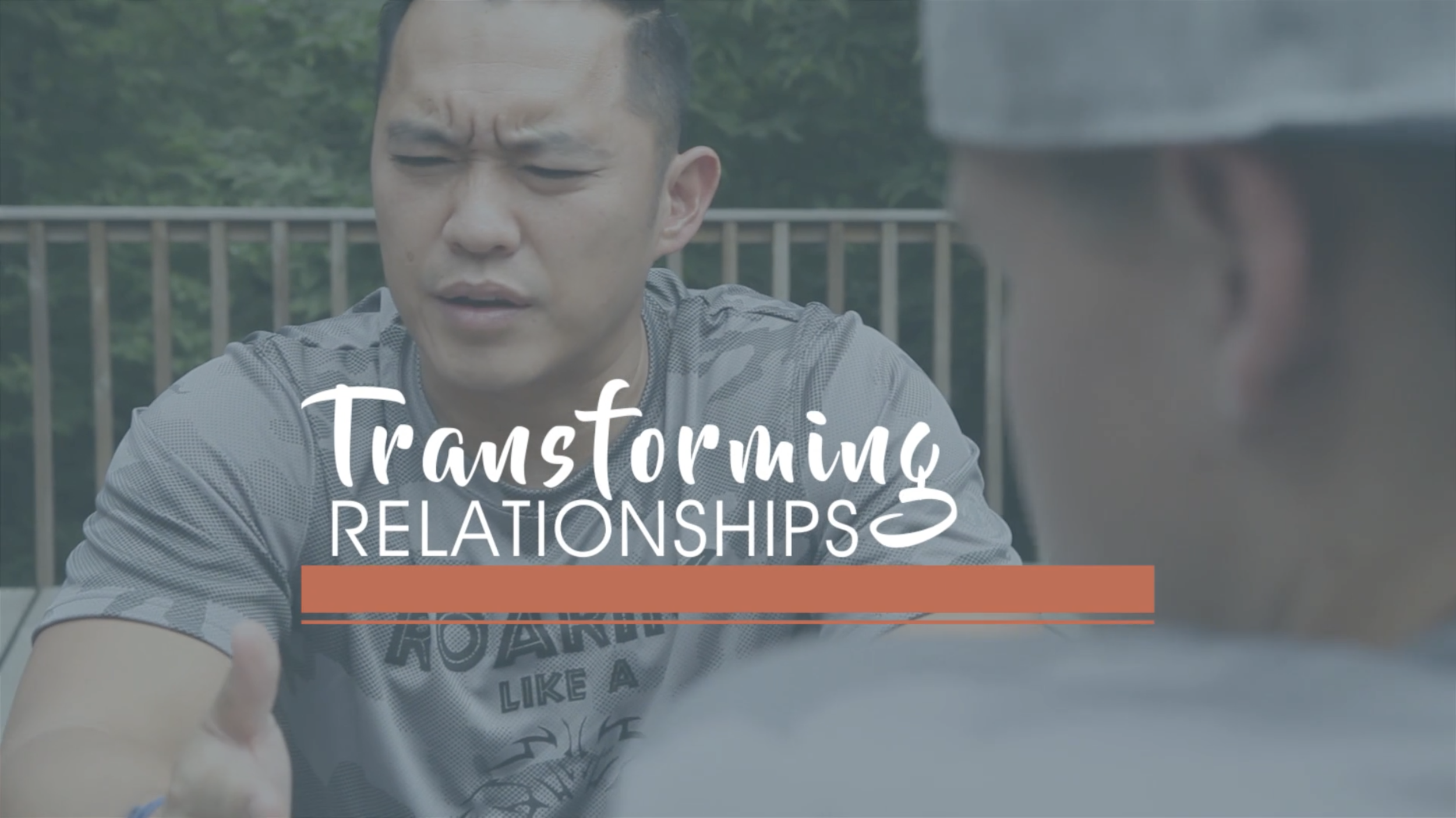 TRANSFORMING Relationships - We are not meant to walk this life alone. Knowing Jesus personally means that you have a TRANSFORMING Relationship. A Church with TRANSFORMING Relationships can change the world.