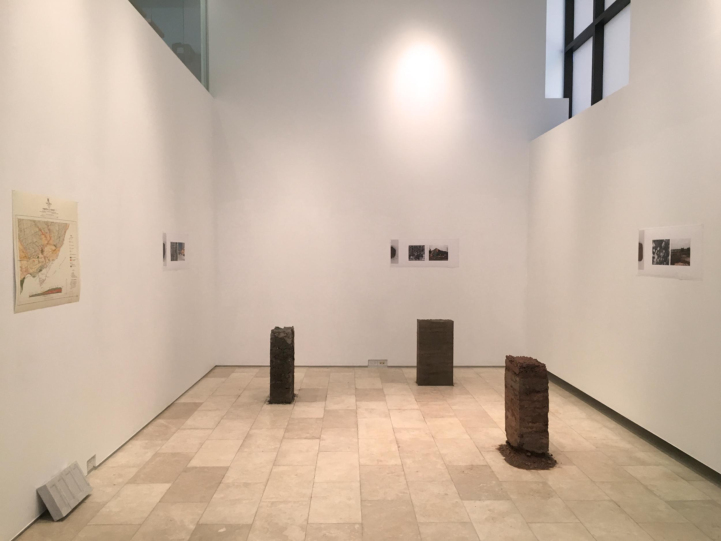 From Soil to Site  Installation view  2017