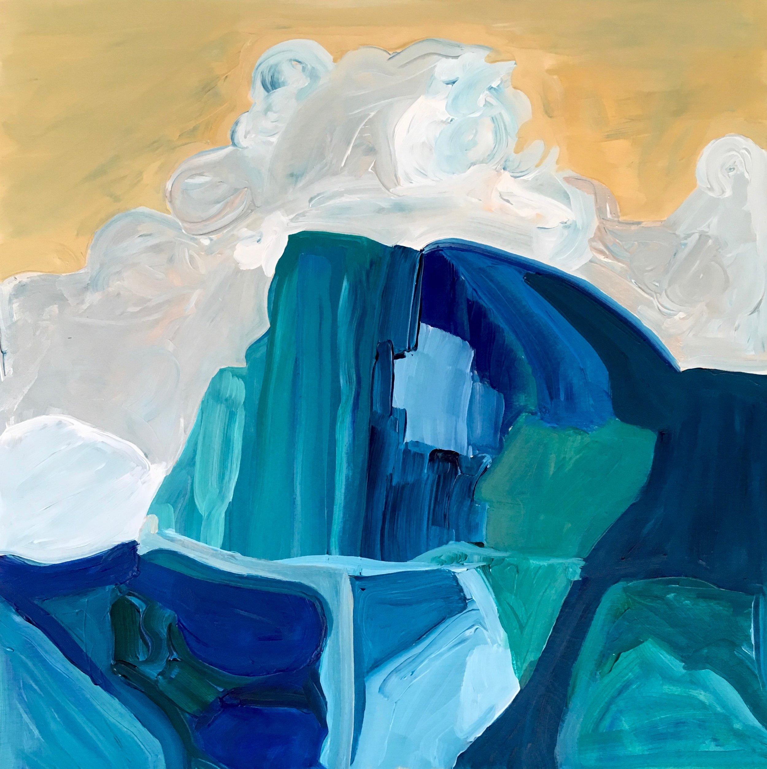 Rendering of Ansel Adams: Half Dome, Thunder Cloud, Yosemite Valley