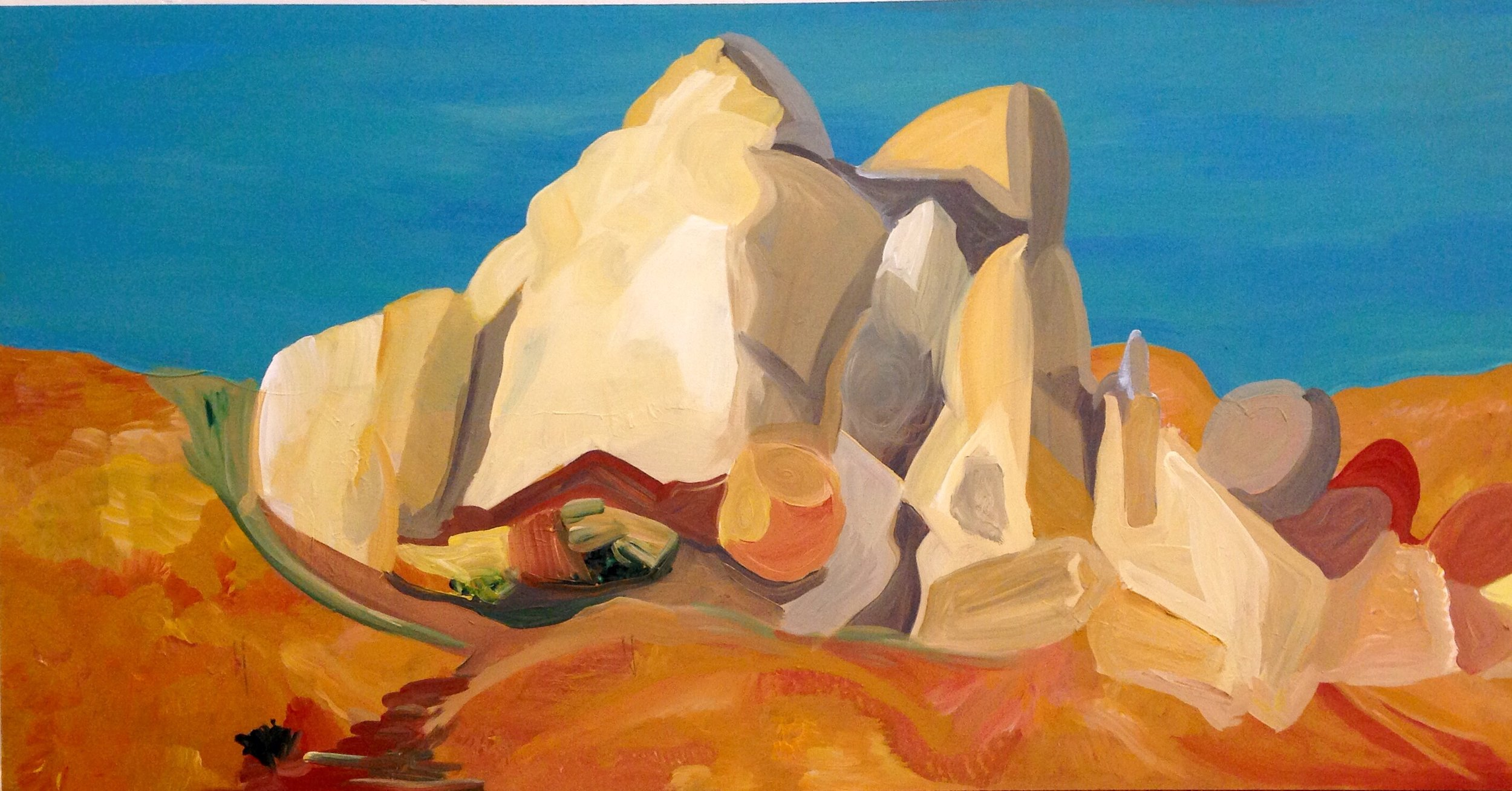 Rendering of Ansel Adams: In Joshua Tree National Monument