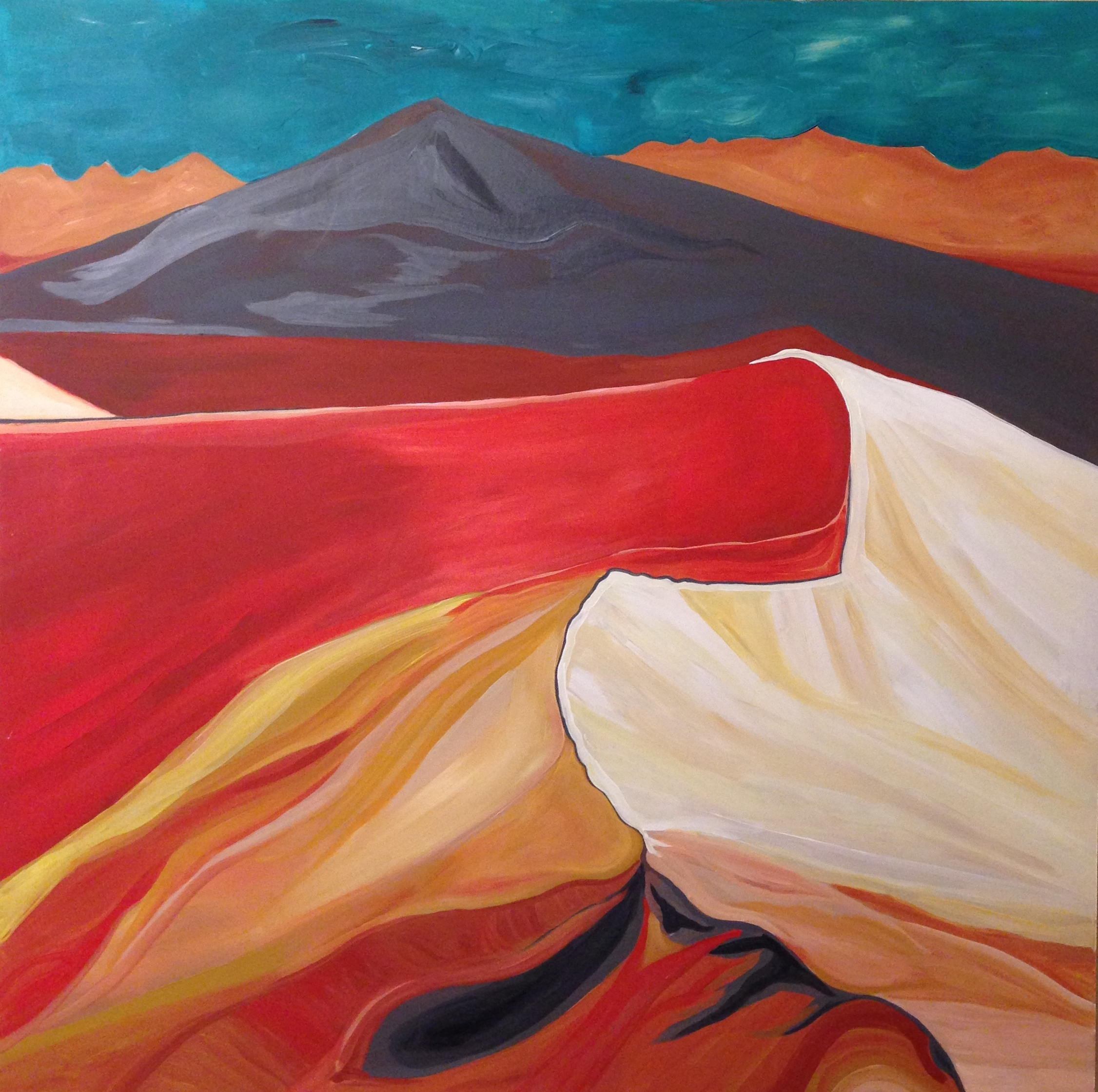 Rendering of Ansel Adams:Sand Dunes, Sunrise, Death Valley National Monument