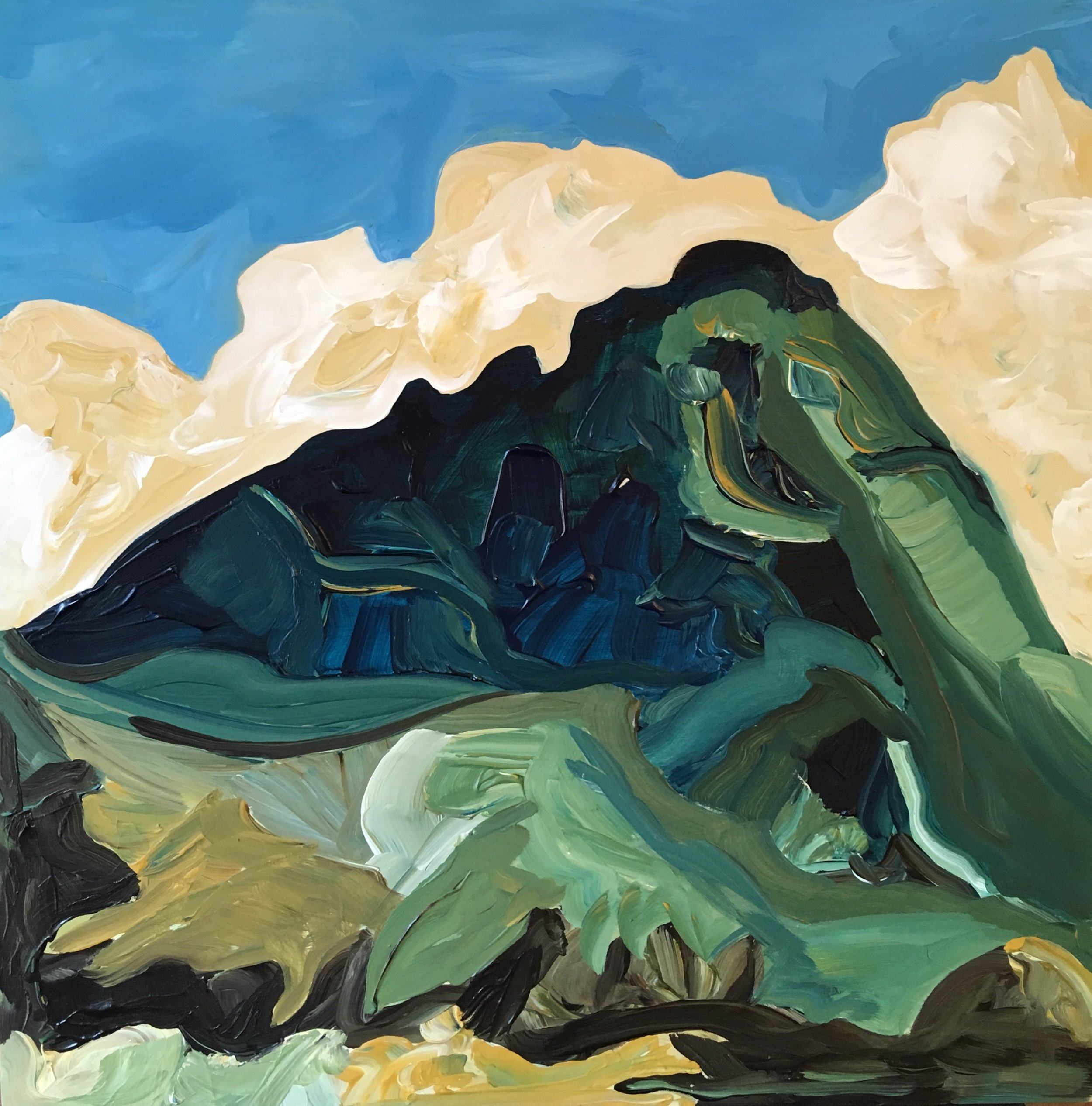 Rendering of Ansel Adams:Colosseum Mountain, Kings River Canyon, California