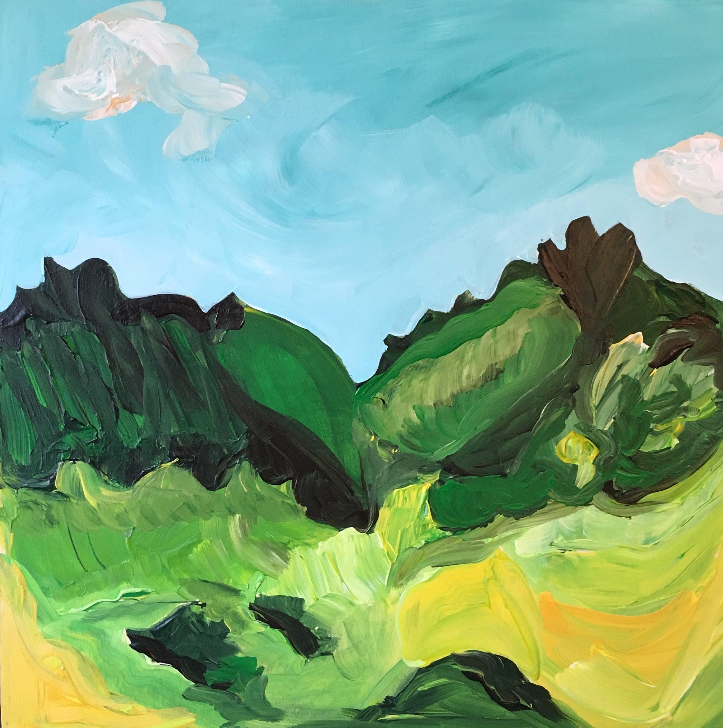 Rendering of Ansel Adams:Coloseum Mountain, Kings River Canyon, California