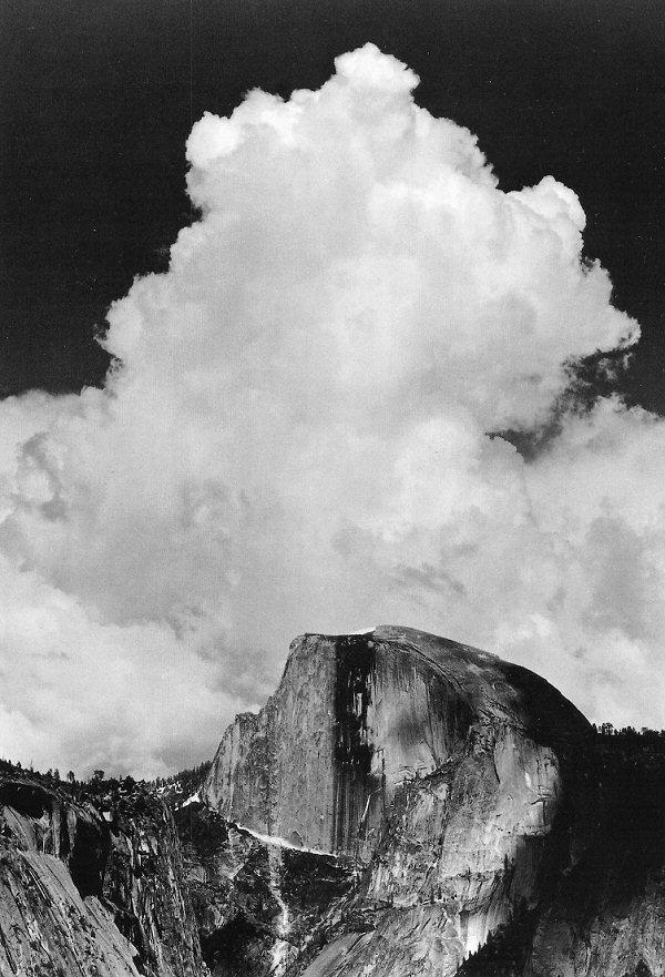 ansel adams thunderclouds half dome.jpg