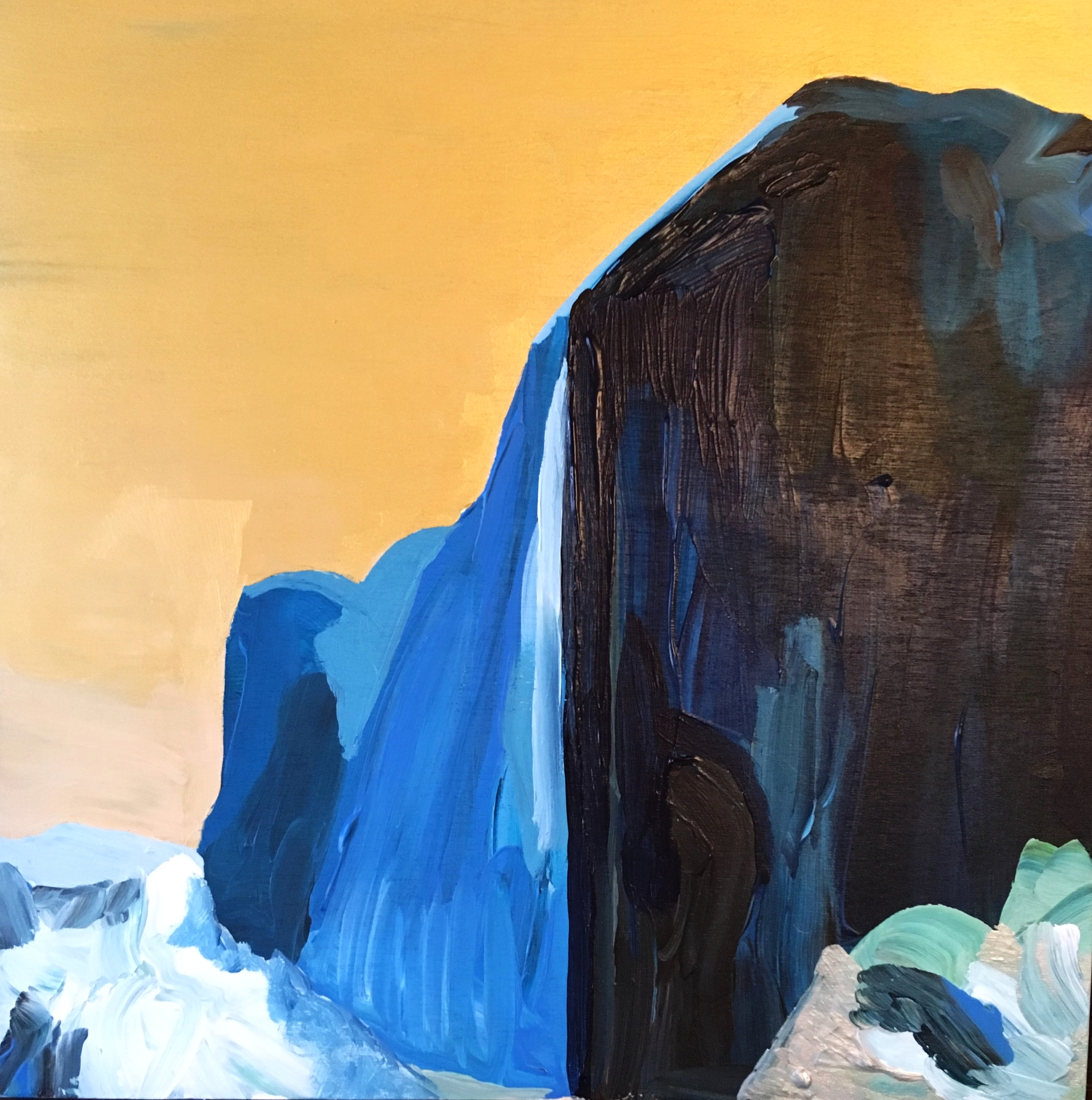 Rendering from Ansel Adams:The Face of Half Dome