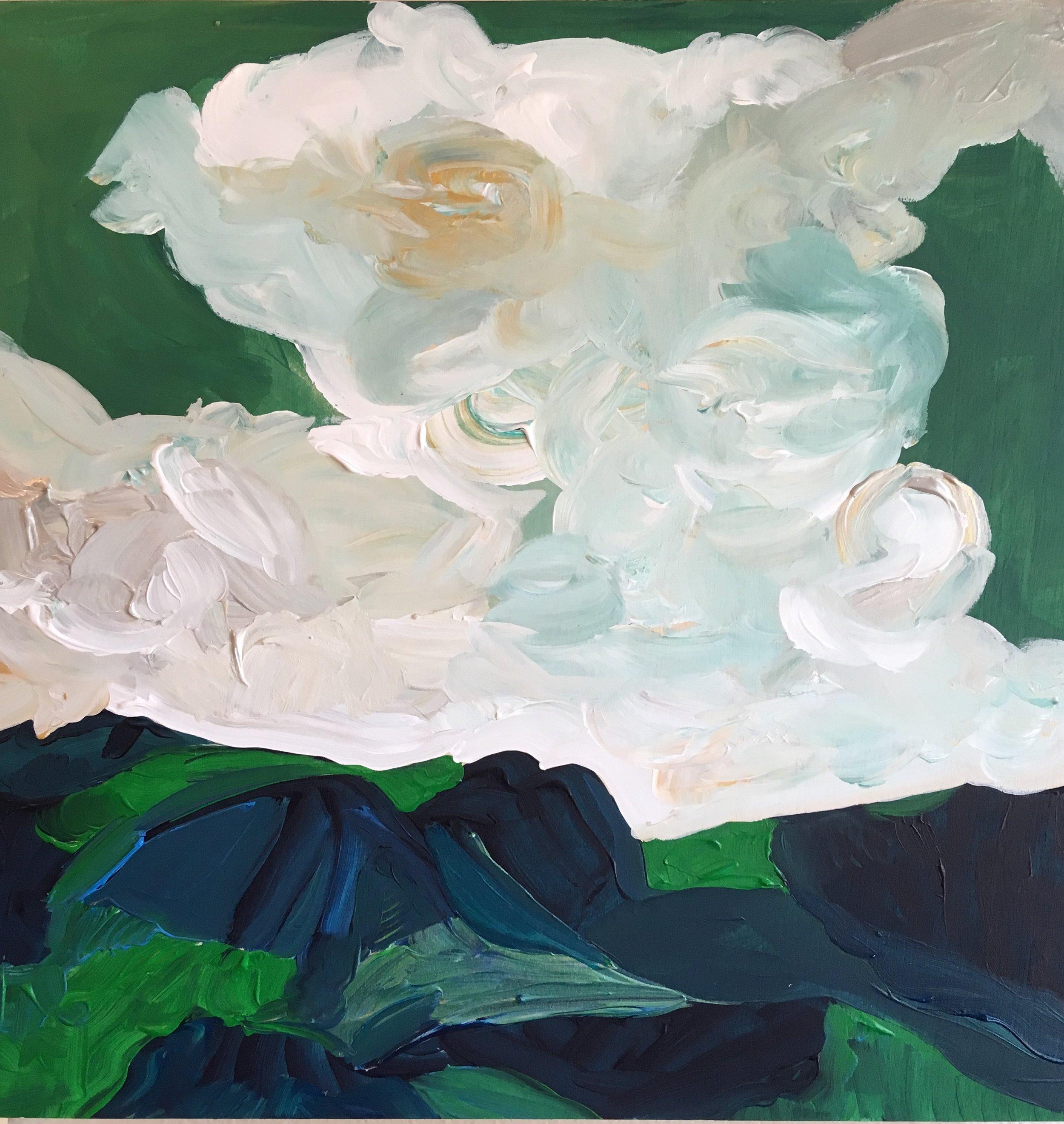 Rendering of Ansel Adams: Clouds, Sierra Nevada, California