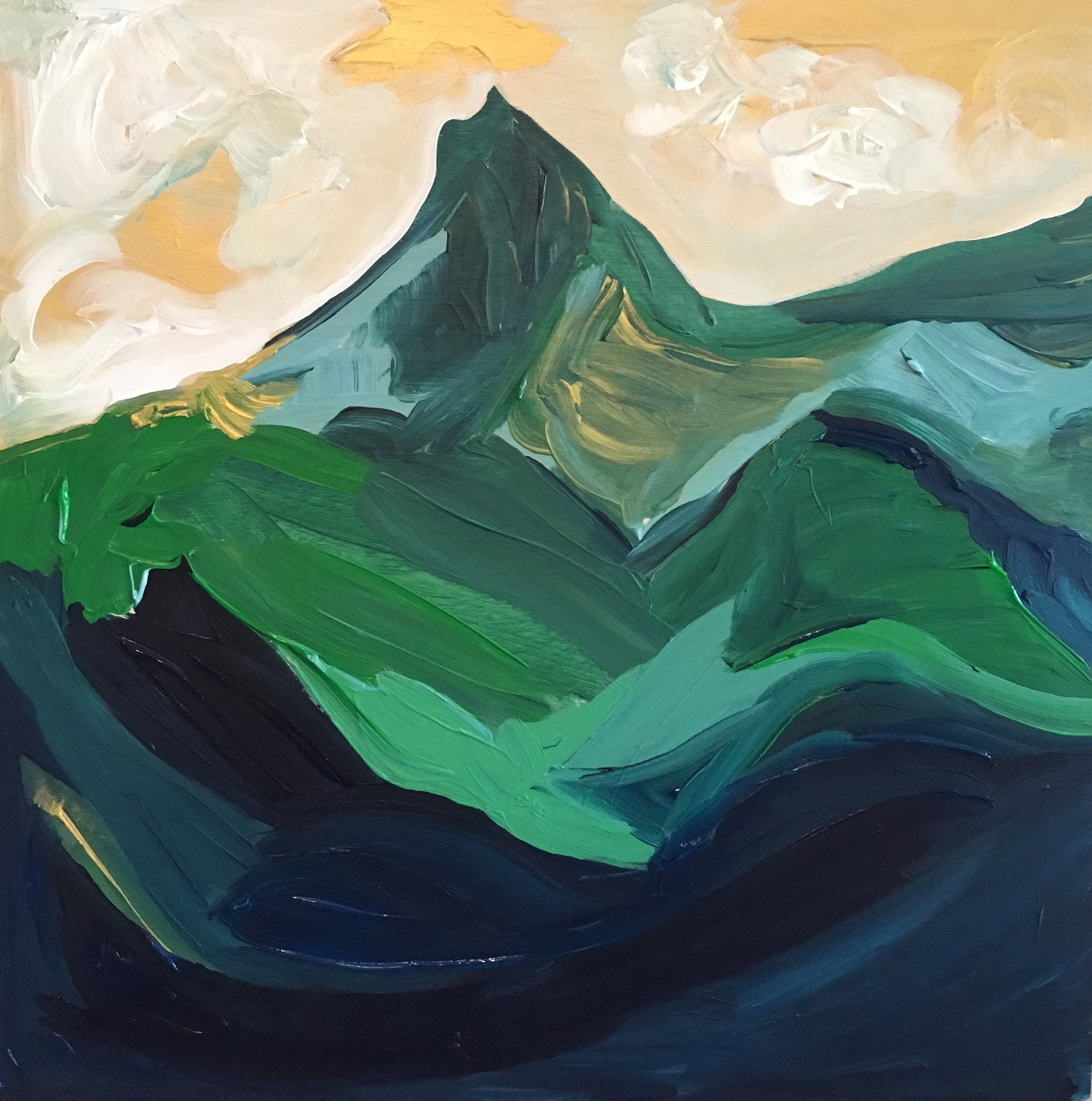 Rendering of Ansel Adams: Mount Clarence King, Southern Sierra