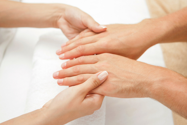 Manicure and Pedicure for men