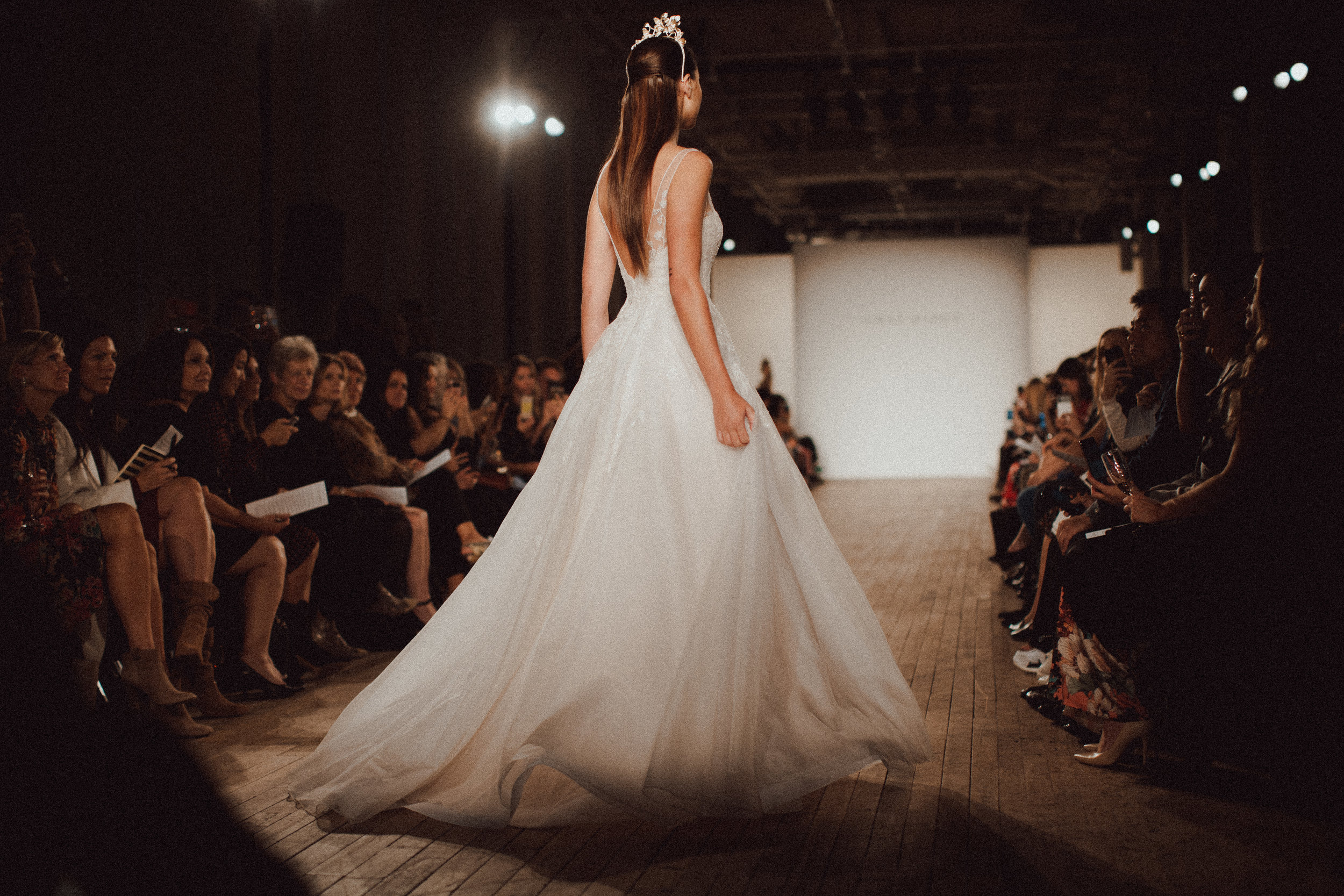 inbal droor wedding gown for style me pretty at new york bridal fashion week