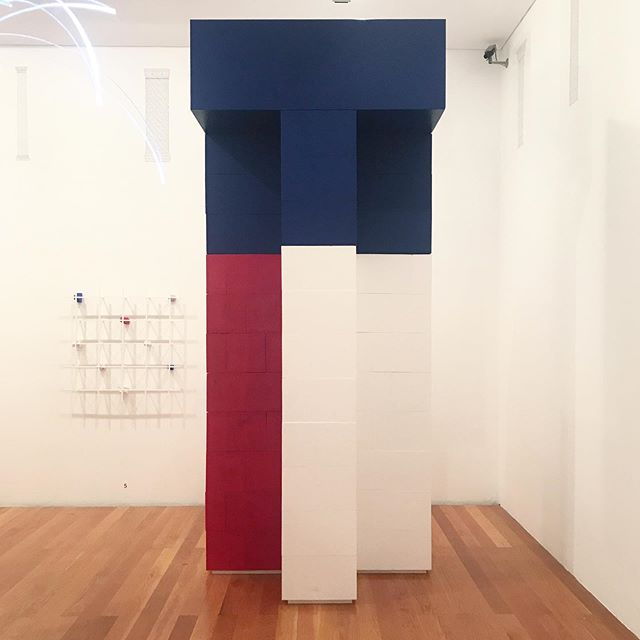 We're very happy we could build a 1/1 mock up of our insulated brick column as part of the beautiful show #whatisornament at the @trienaldelisboa curated by @piovenefabi