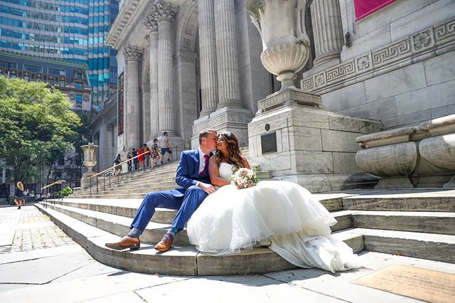 Another beautiful shot from Aarti and Alan's wedding. The New York Public Library is a great location for photos on the photo tour!  #manhattan #newyorkpubliclibrary #Ukbride #ukweddings #weddingphotographer #wedding #weddingplannernyc #elopement #newyorkelopement #newyork #weddinginspo #newyorkdreamweddings #harleyhall #elopenyc #weddingphotography #blackandwhite #newyork #love #elope #creative #weddings #nywedding #harleyhallphotography #tourists #love #instawedding