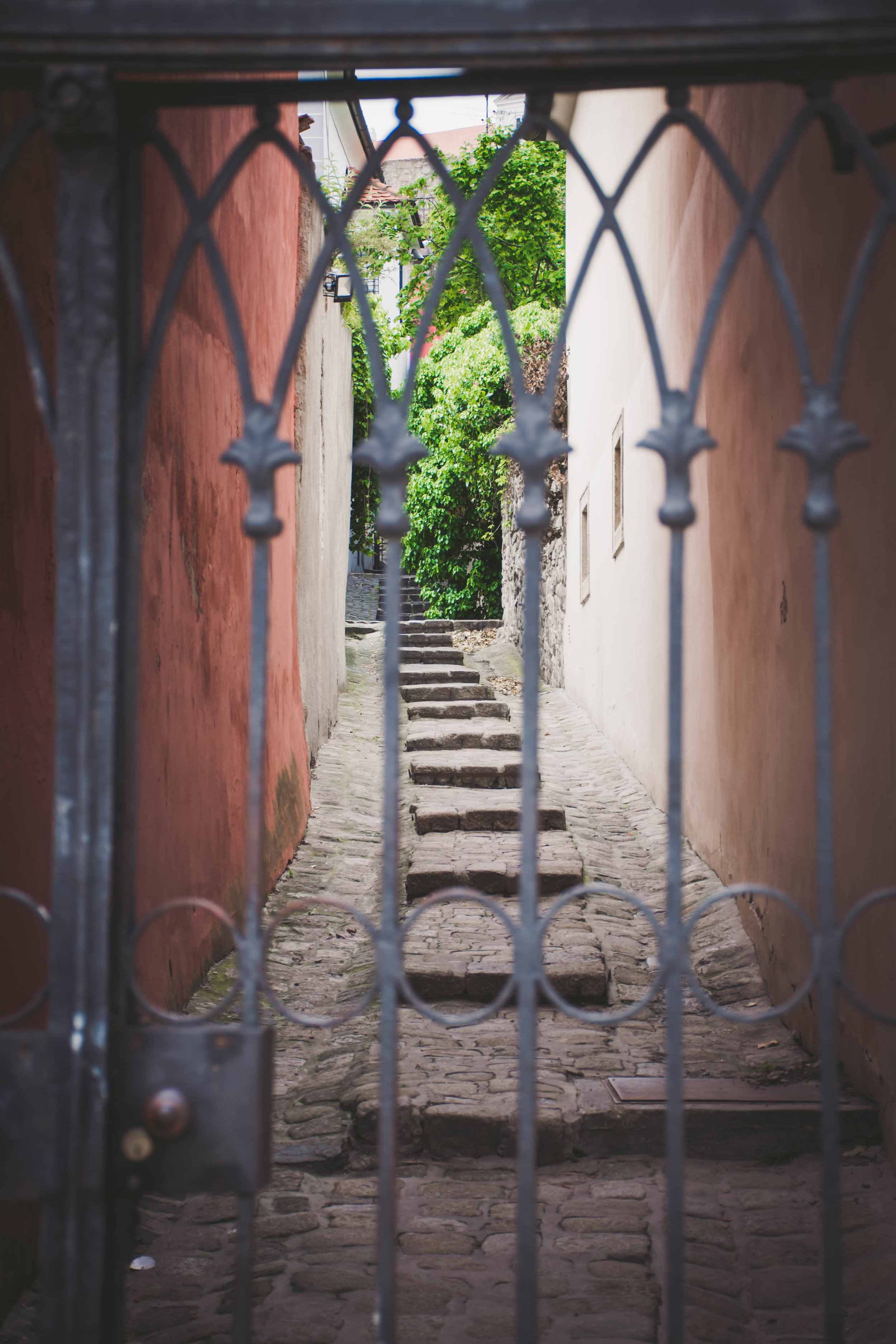 A neat alley way