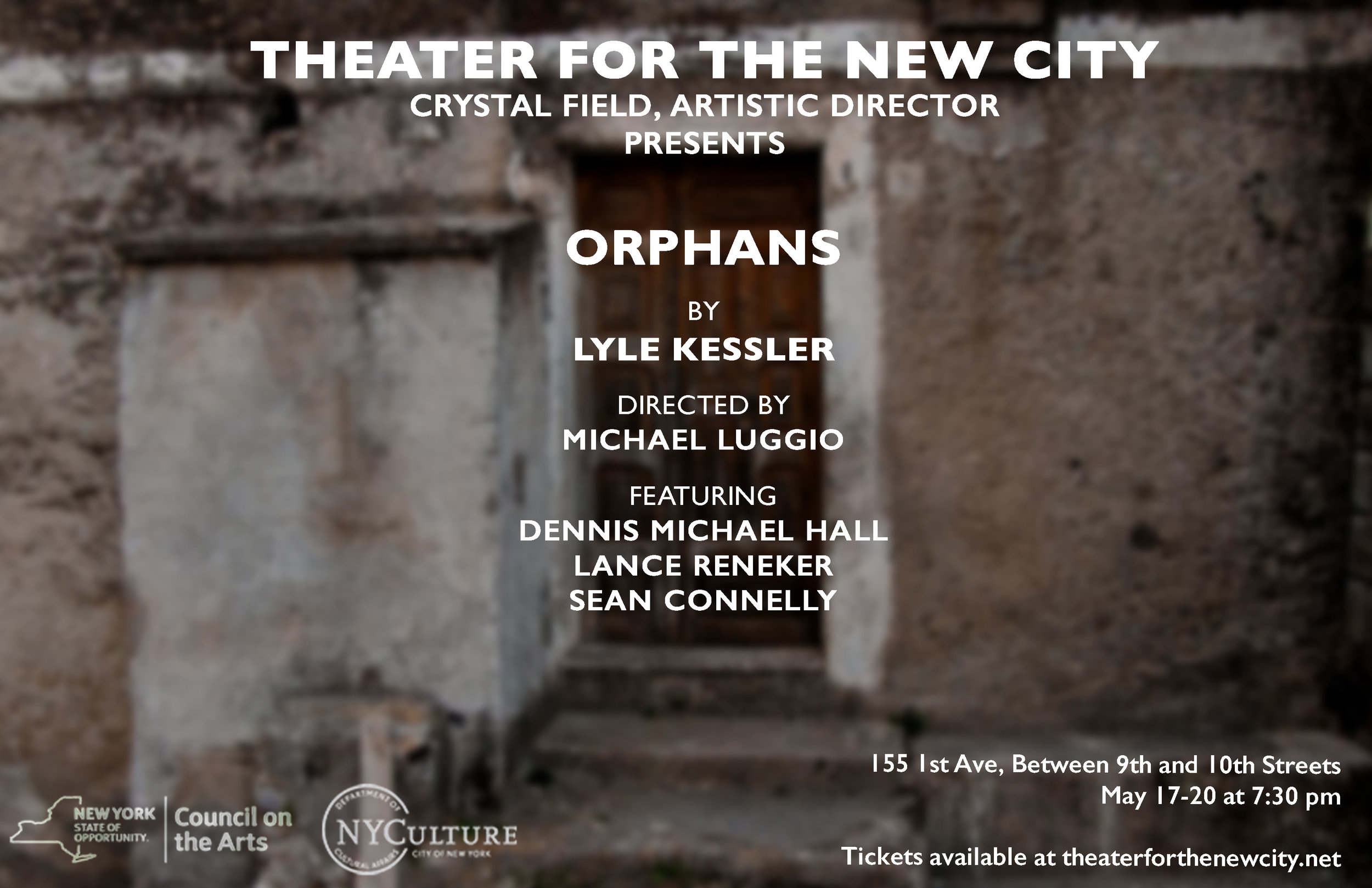 Orphans Play Theater for the New City