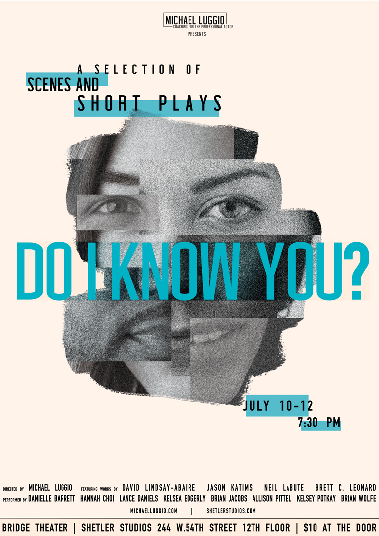 Do I Know You performance poster