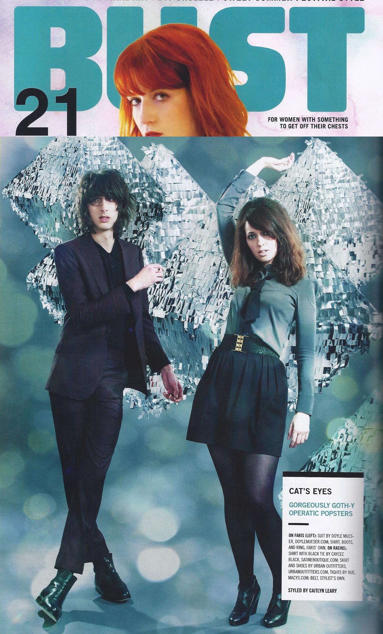 Gothy Fashion - Bust Magazine - Fall Fashion