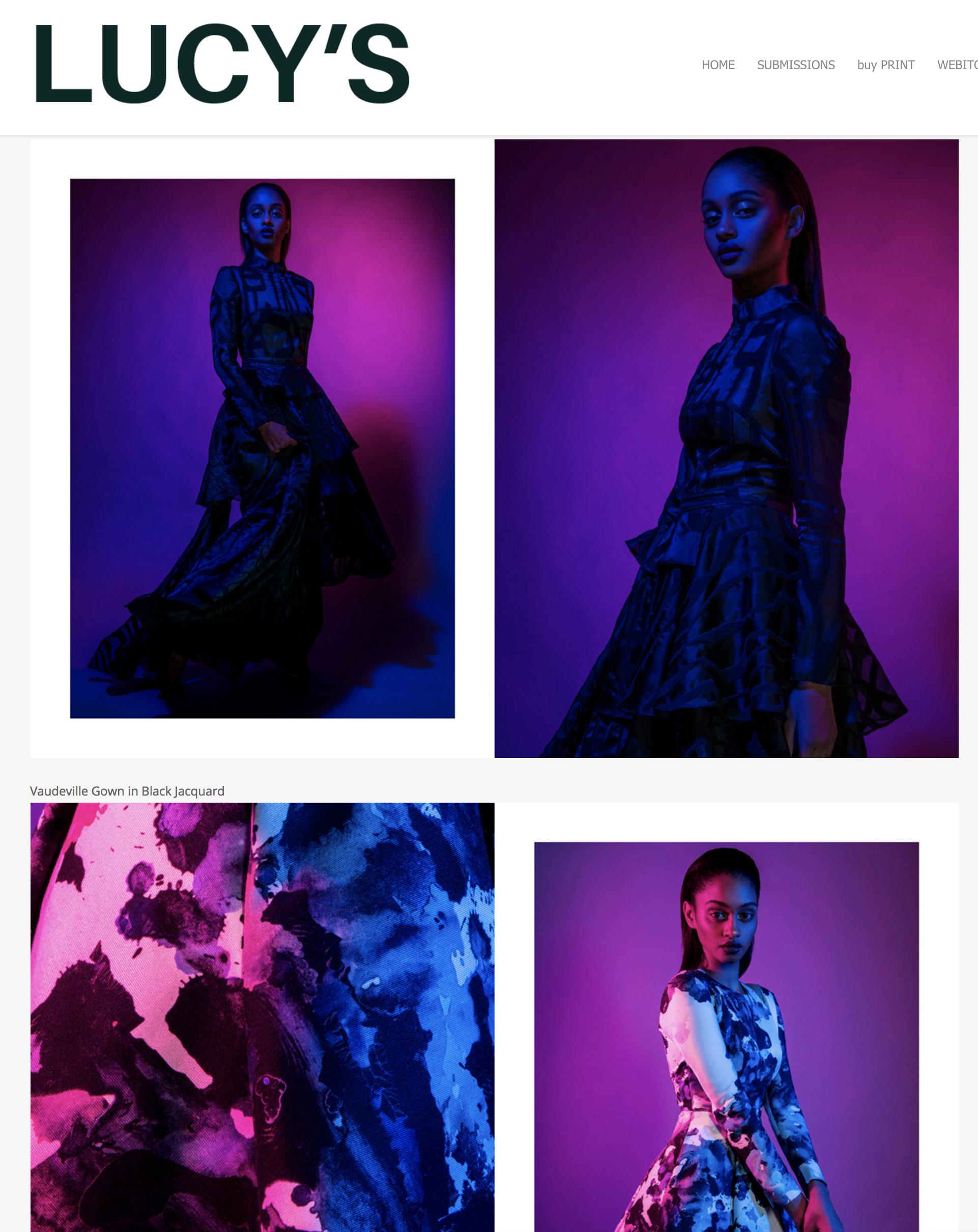 Black Gown - Women's Fashion - Caycee Black