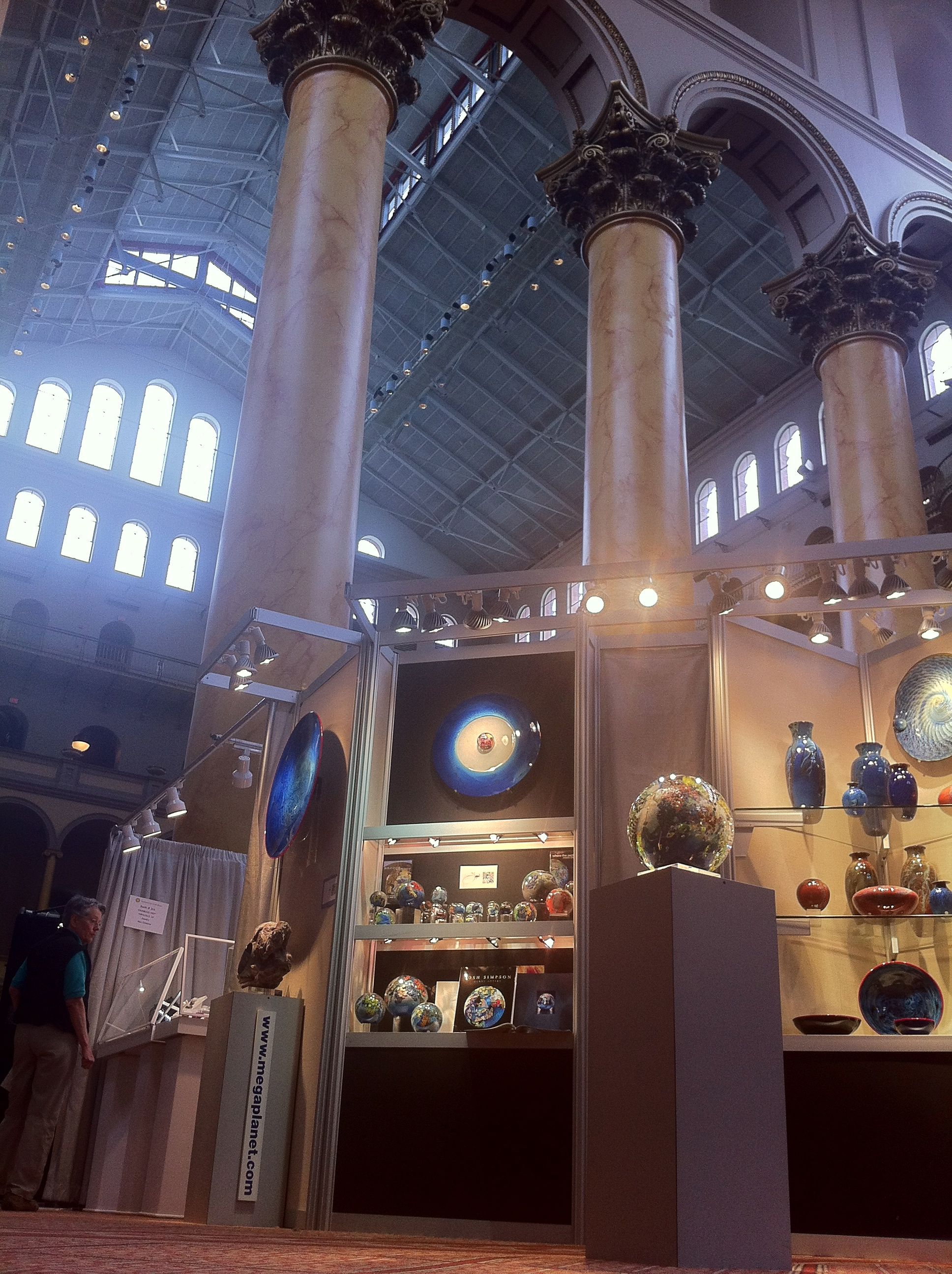 Josh's exhibit at the National Building Museum