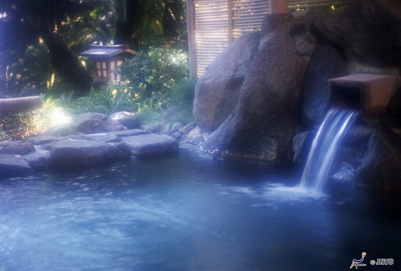 Japanese bath house