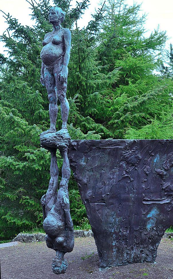 Hans Pauli Olsen: Spegilsmynd. 1992