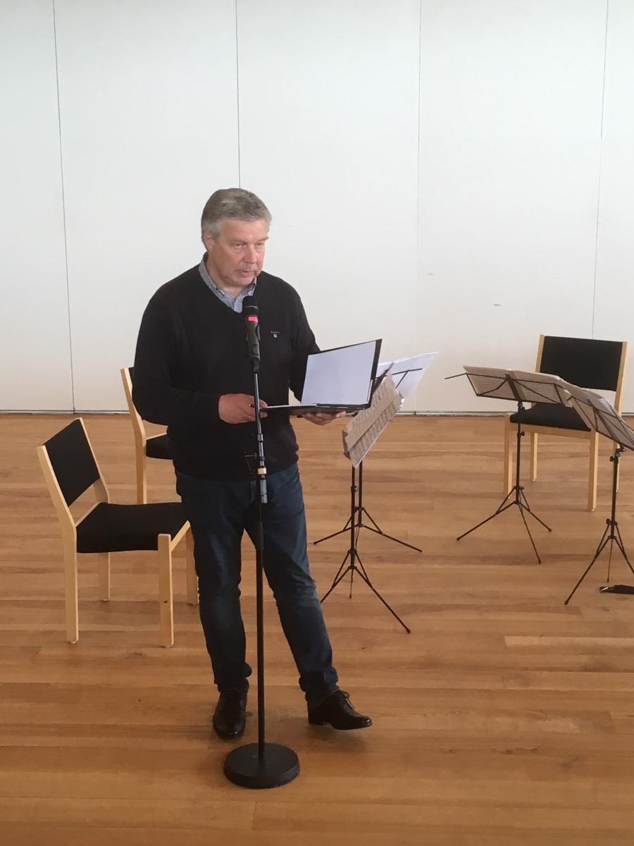 Birgir Kruse helt upplatingarrøðuna