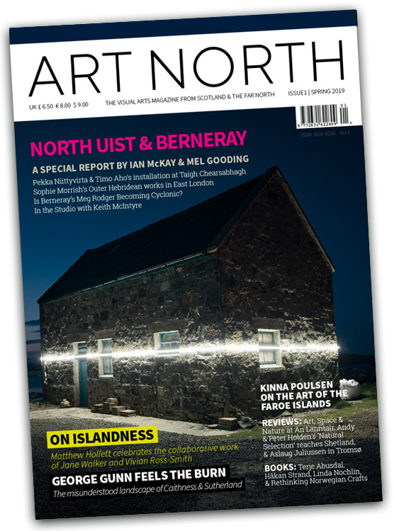 Nýtt listatíðarrit ART NORTH  https://artnorth-magazine.com/