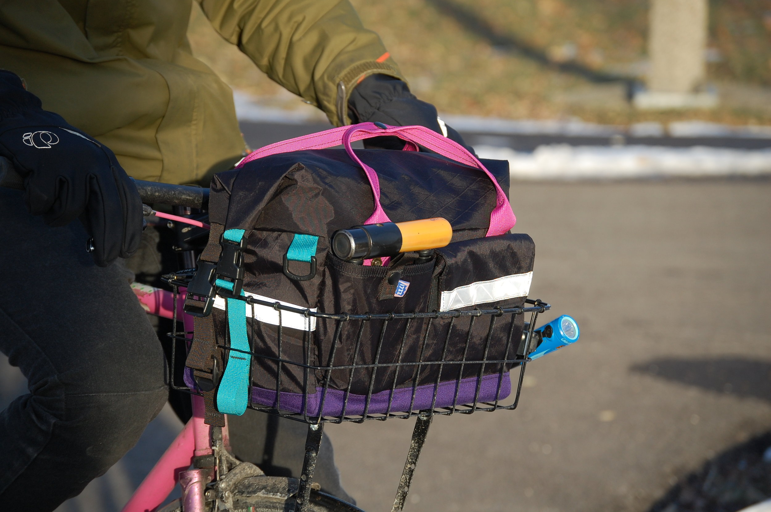 VX21 and 1000D Cordura roll top basket bag