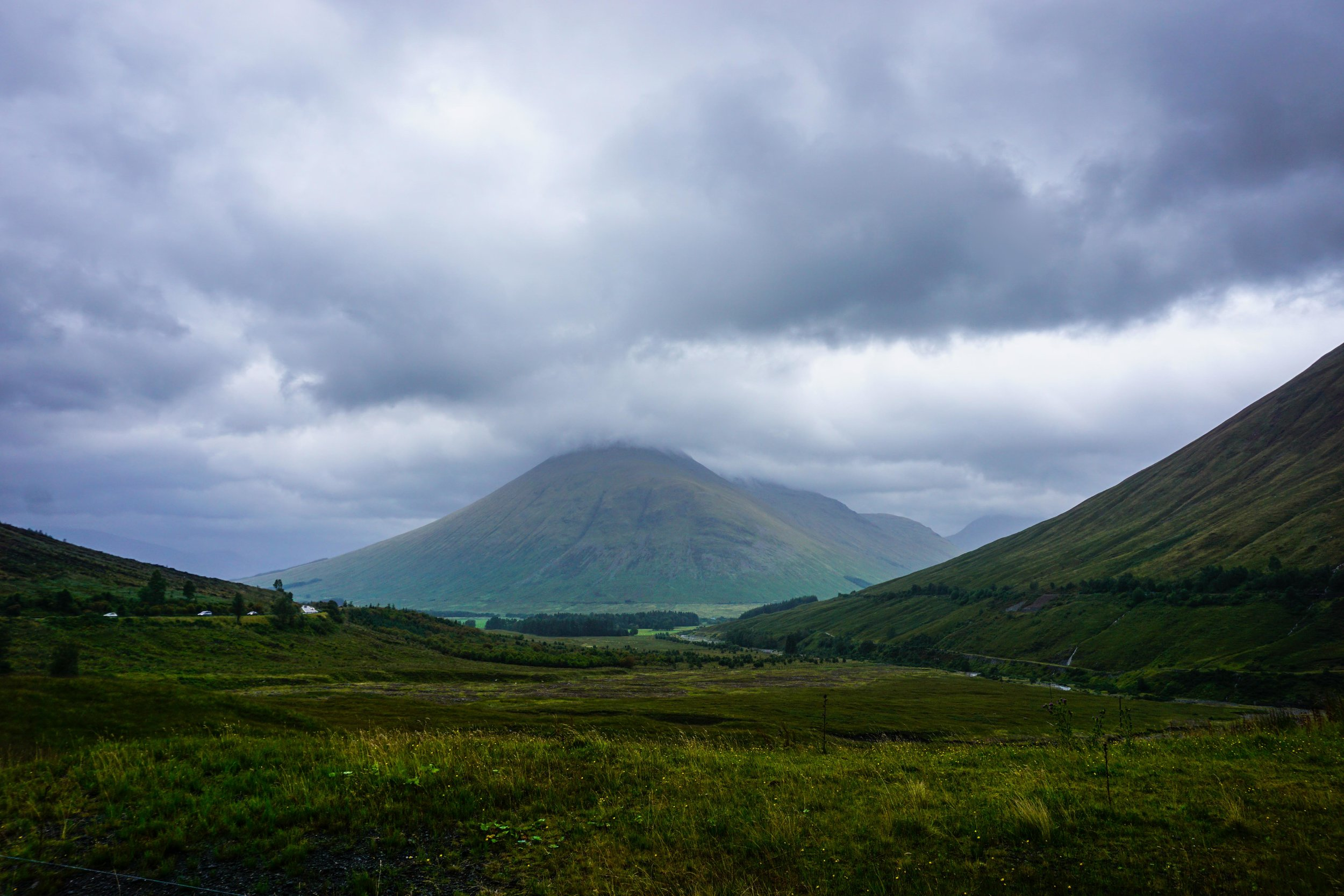 First getting to the Highlands