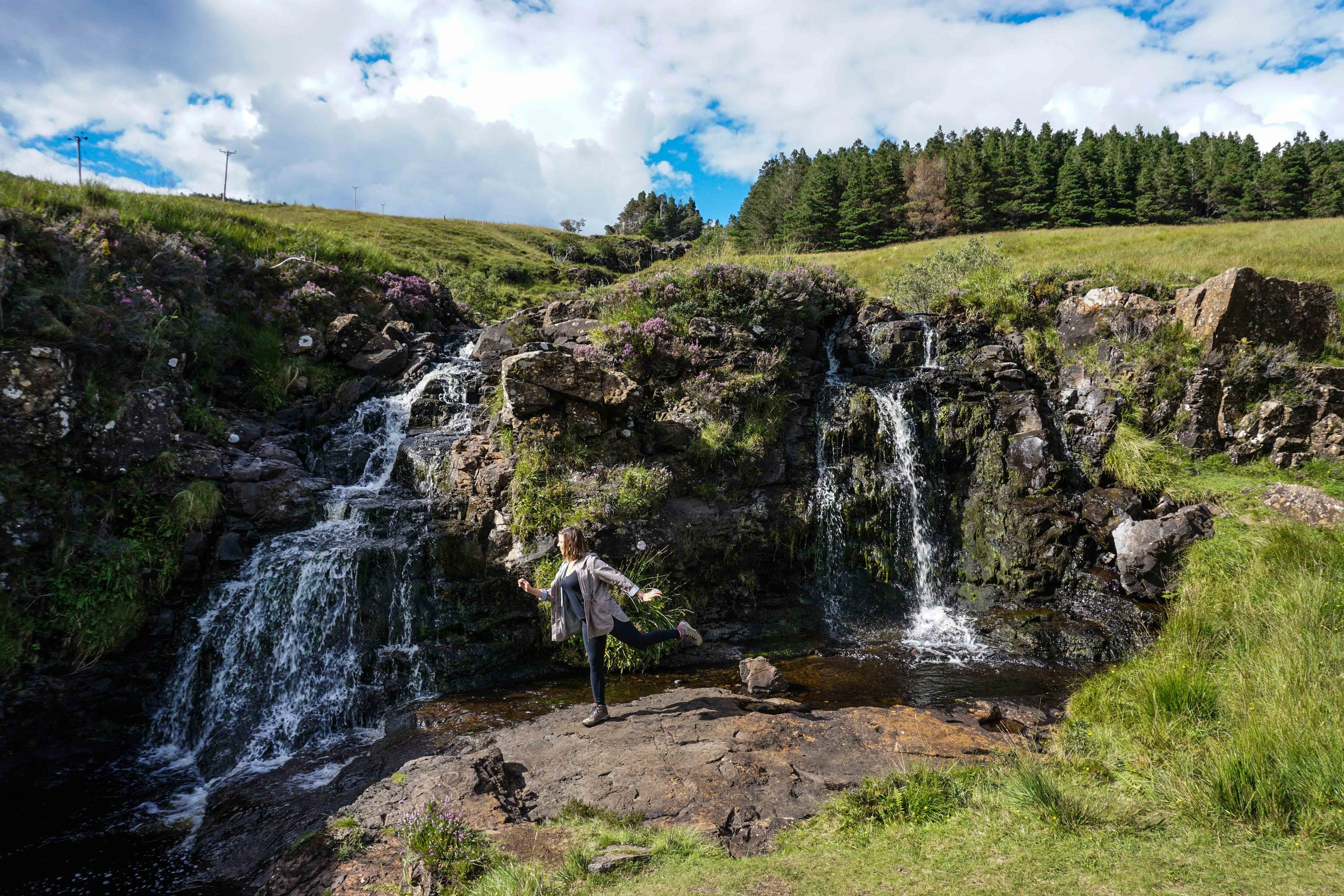 Being a fairy in the fairy pools, naturally