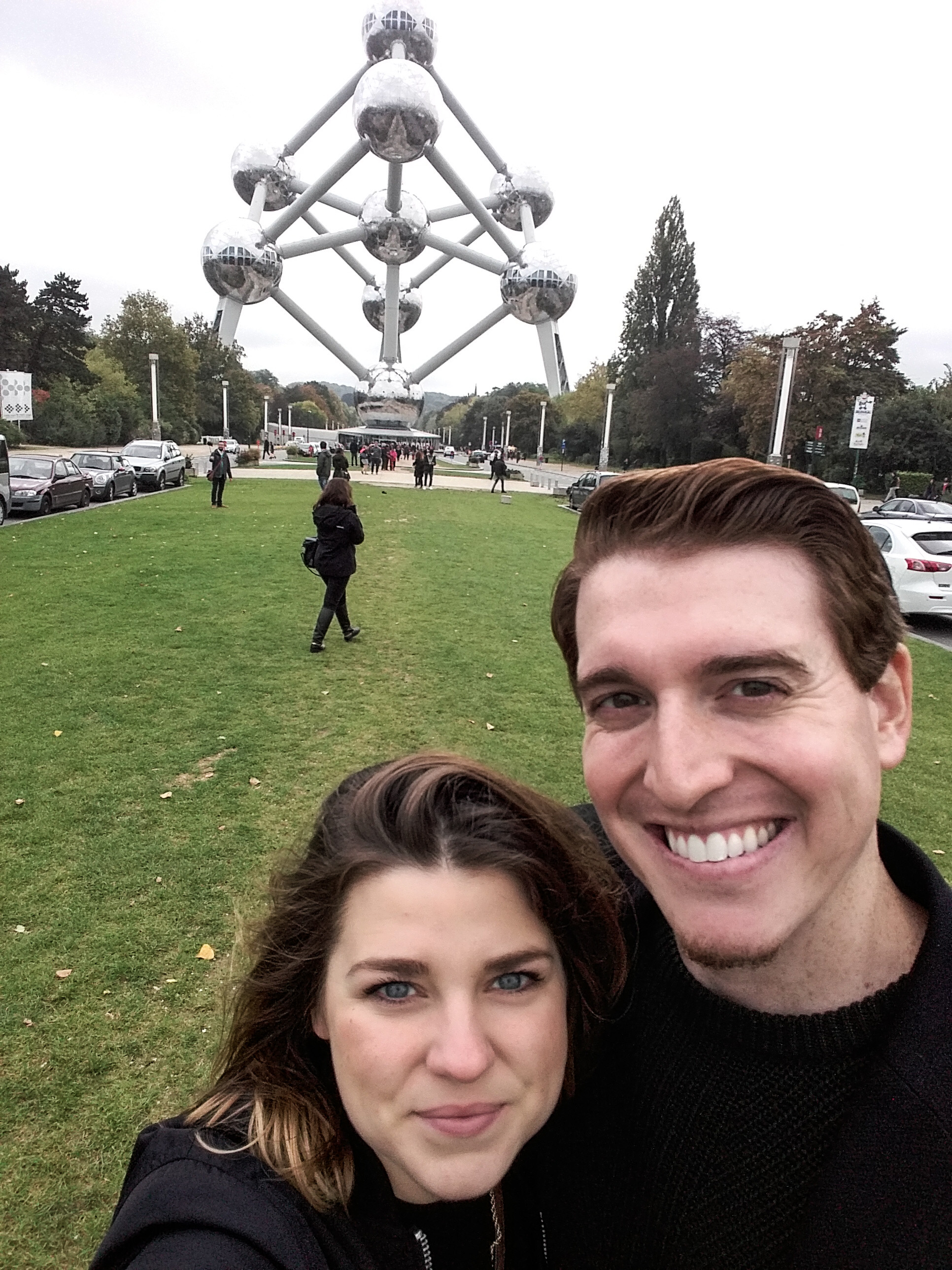 Exploring Brussels before a wine festival!