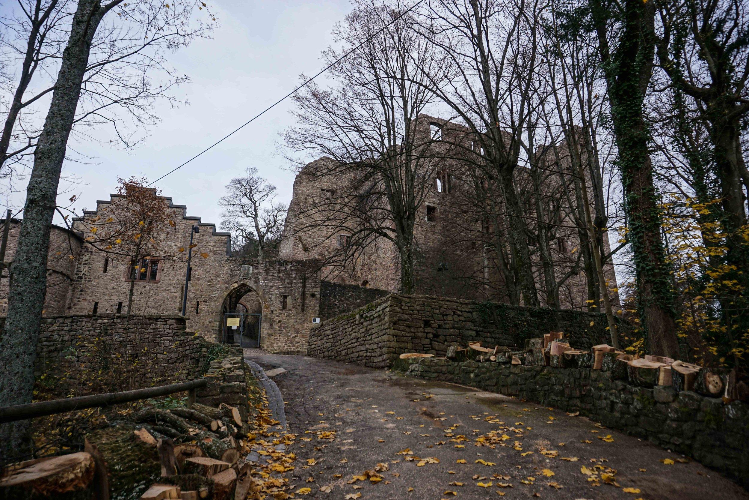 Hohenbaden Castle ruins